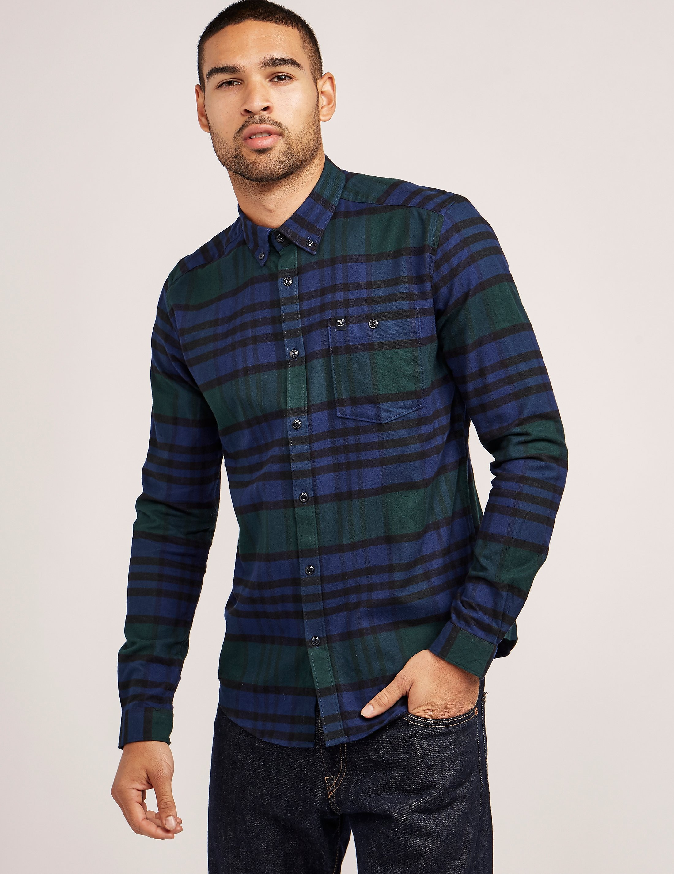 Barbour Newton Long Sleeve Shirt