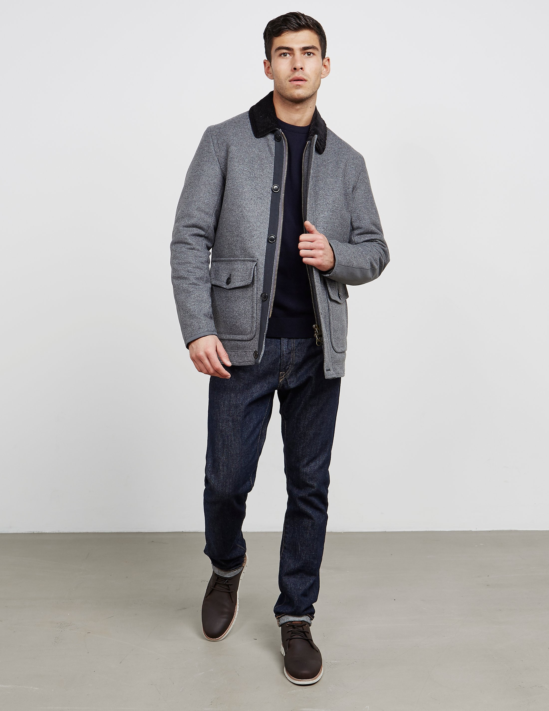 Barbour Chingle Wool Padded Jacket - Online Exclusive