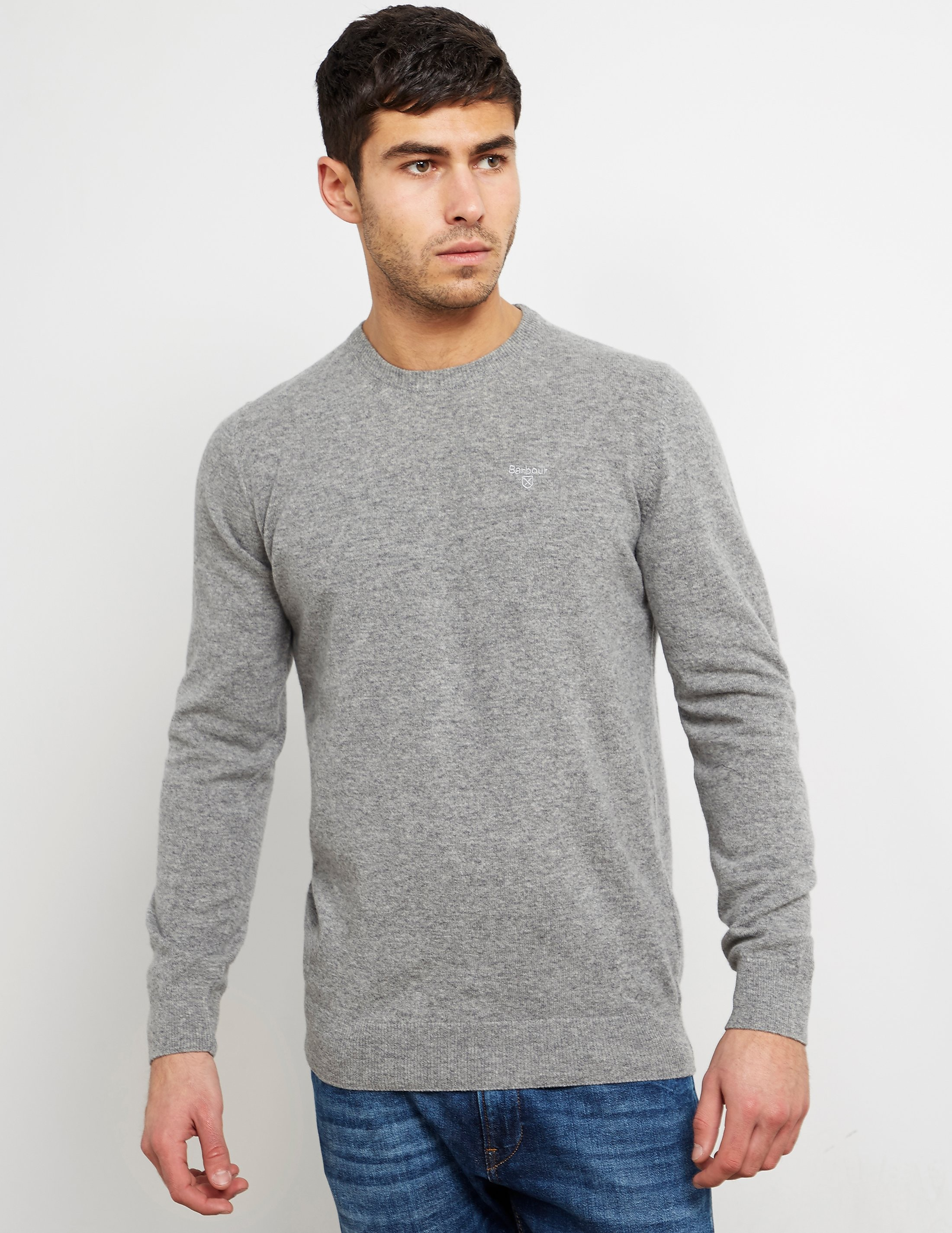 Barbour Wool Crew Knitted Jumper