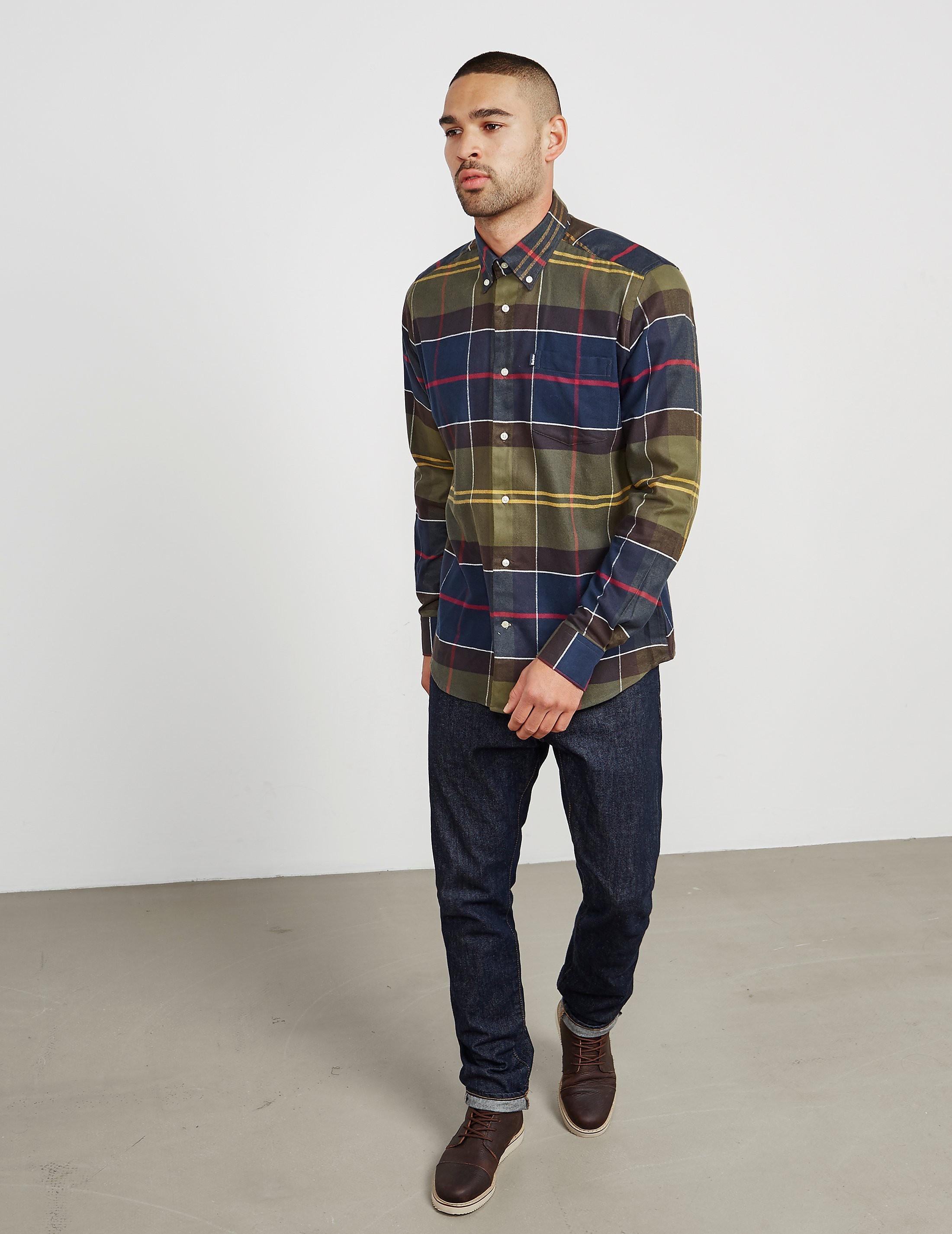 Barbour John Checked Long Sleeve Shirt