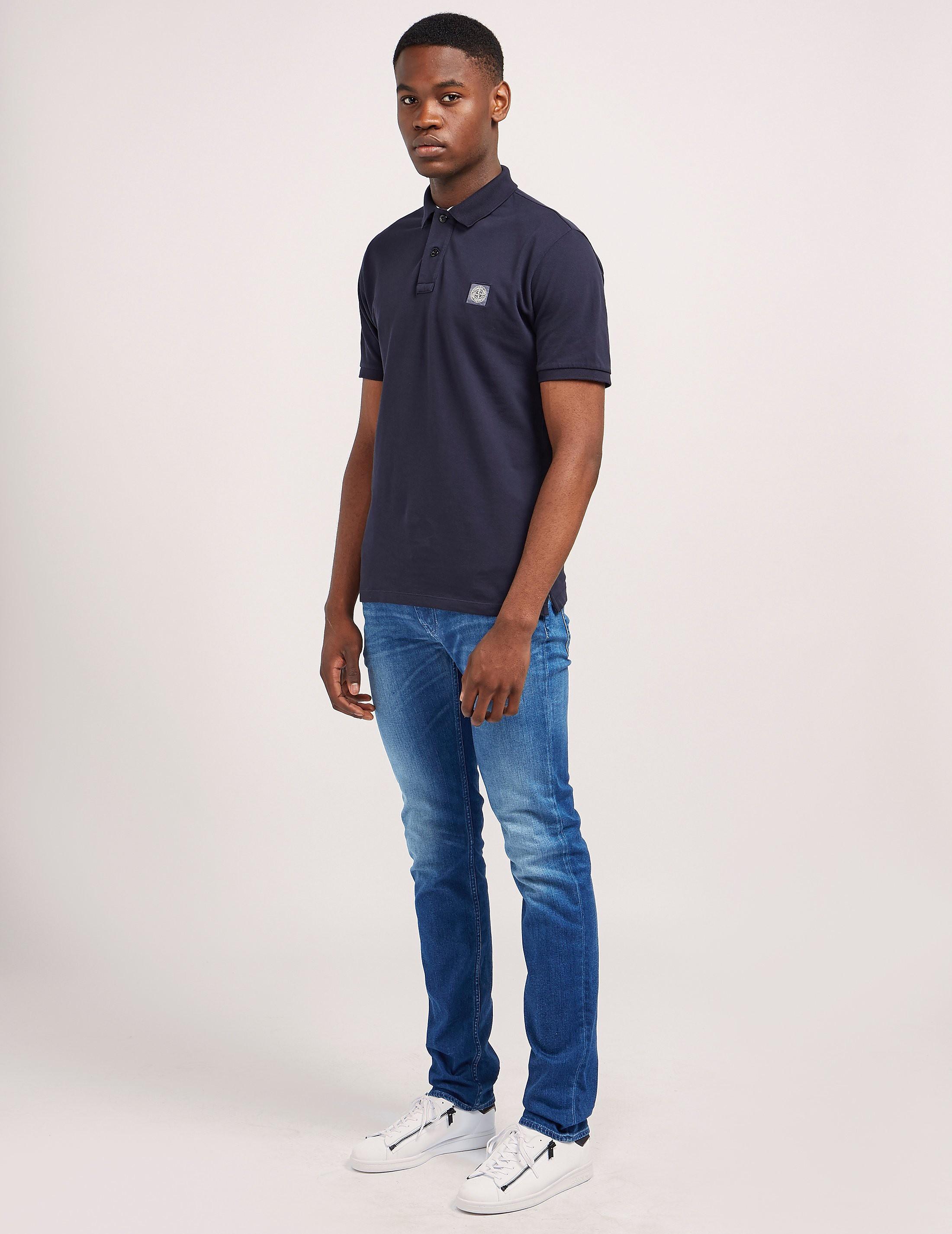 Stone Island Short Sleeve Polo Shirt