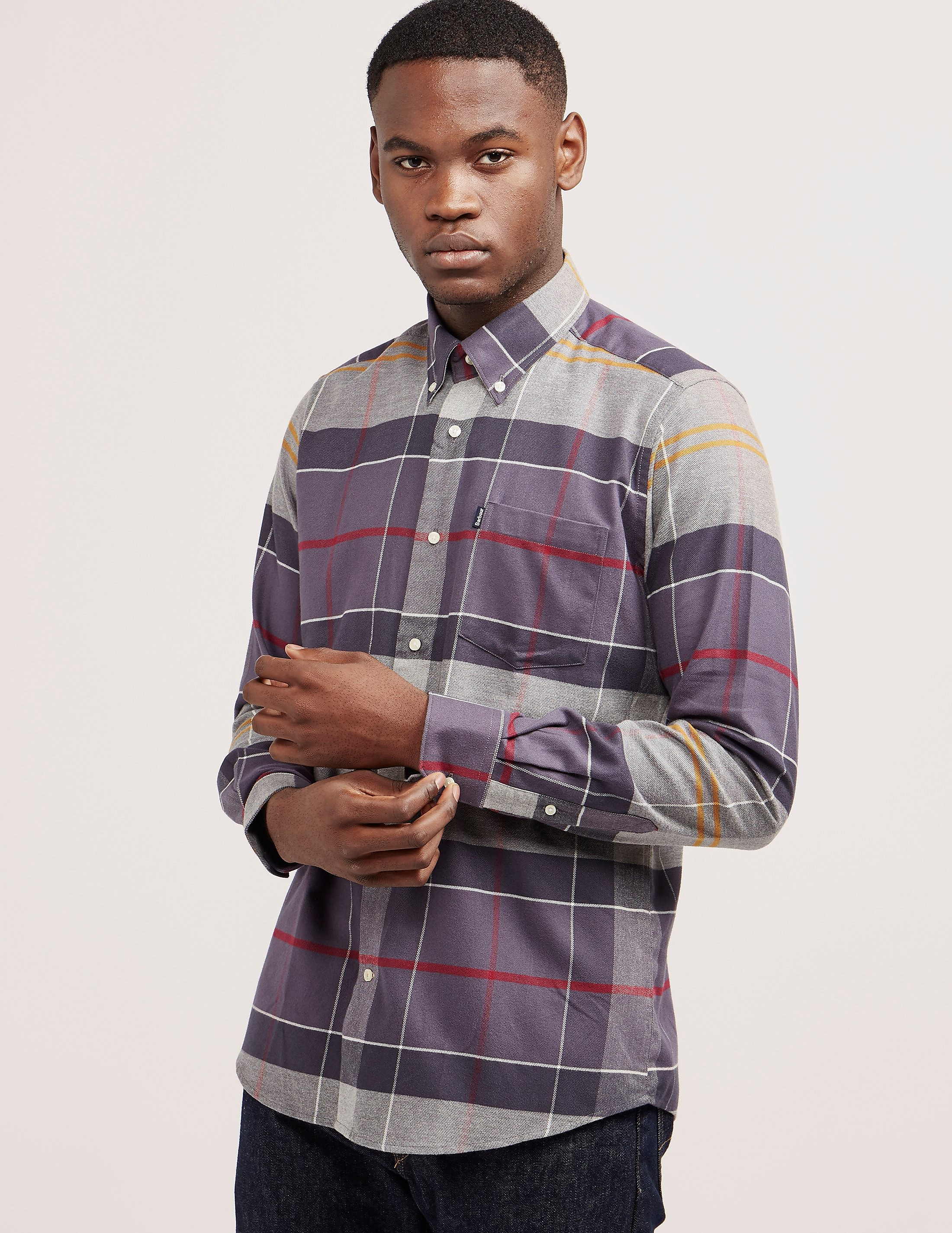 Barbour John Checked Long Sleeve Shirt