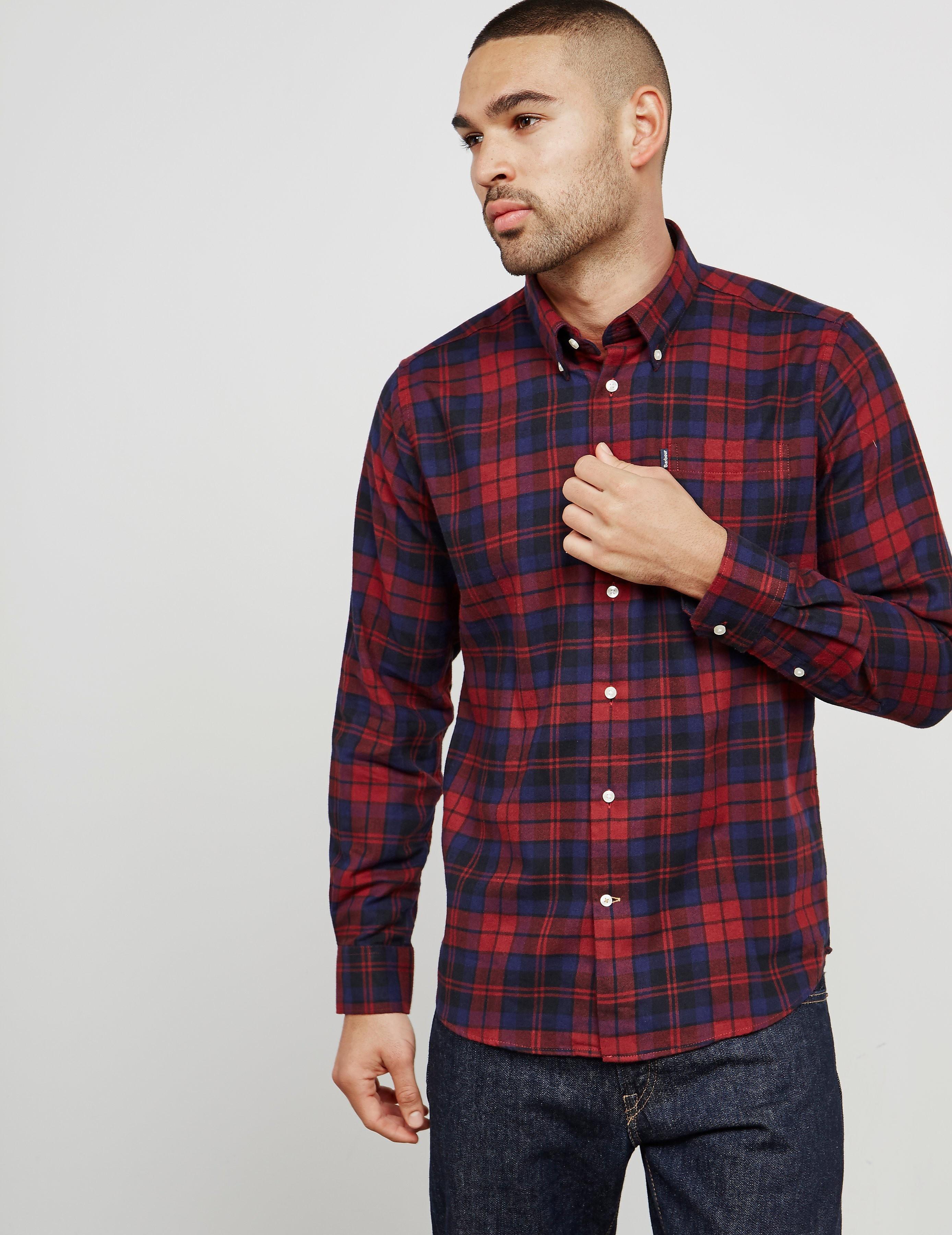Barbour Seth Check Long Sleeve Shirt