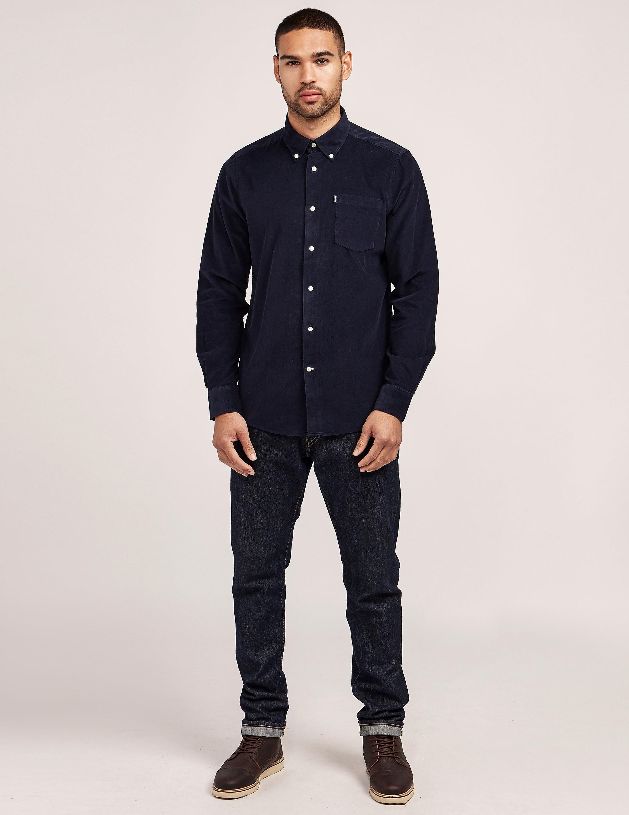Barbour Morris Corduroy Long Sleeve Shirt