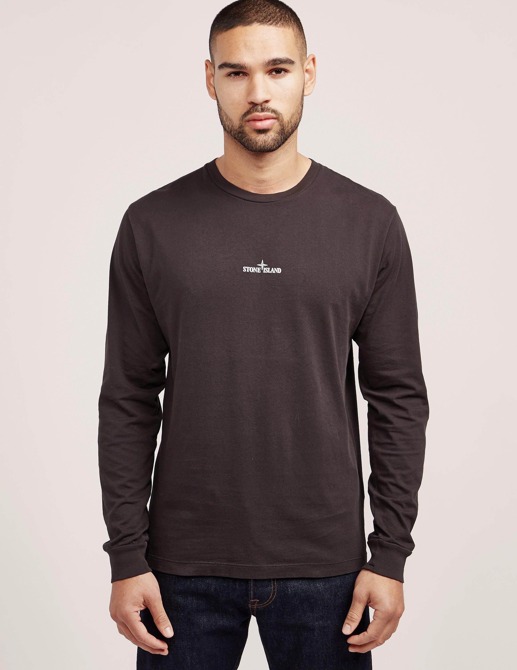 Stone Island Back Pin Long Sleeve T-Shirt
