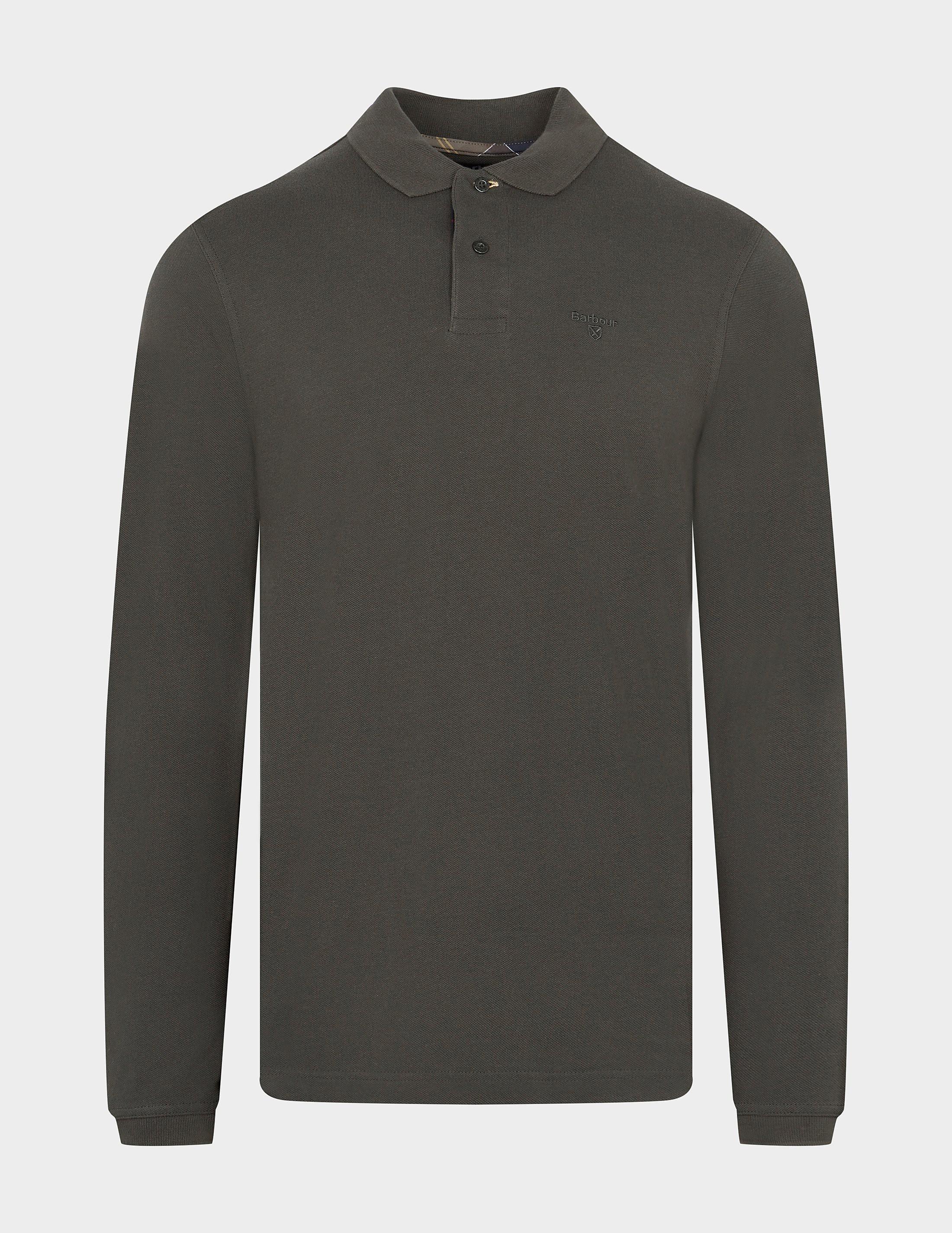 Barbour Long Sleeve Polo Shirt