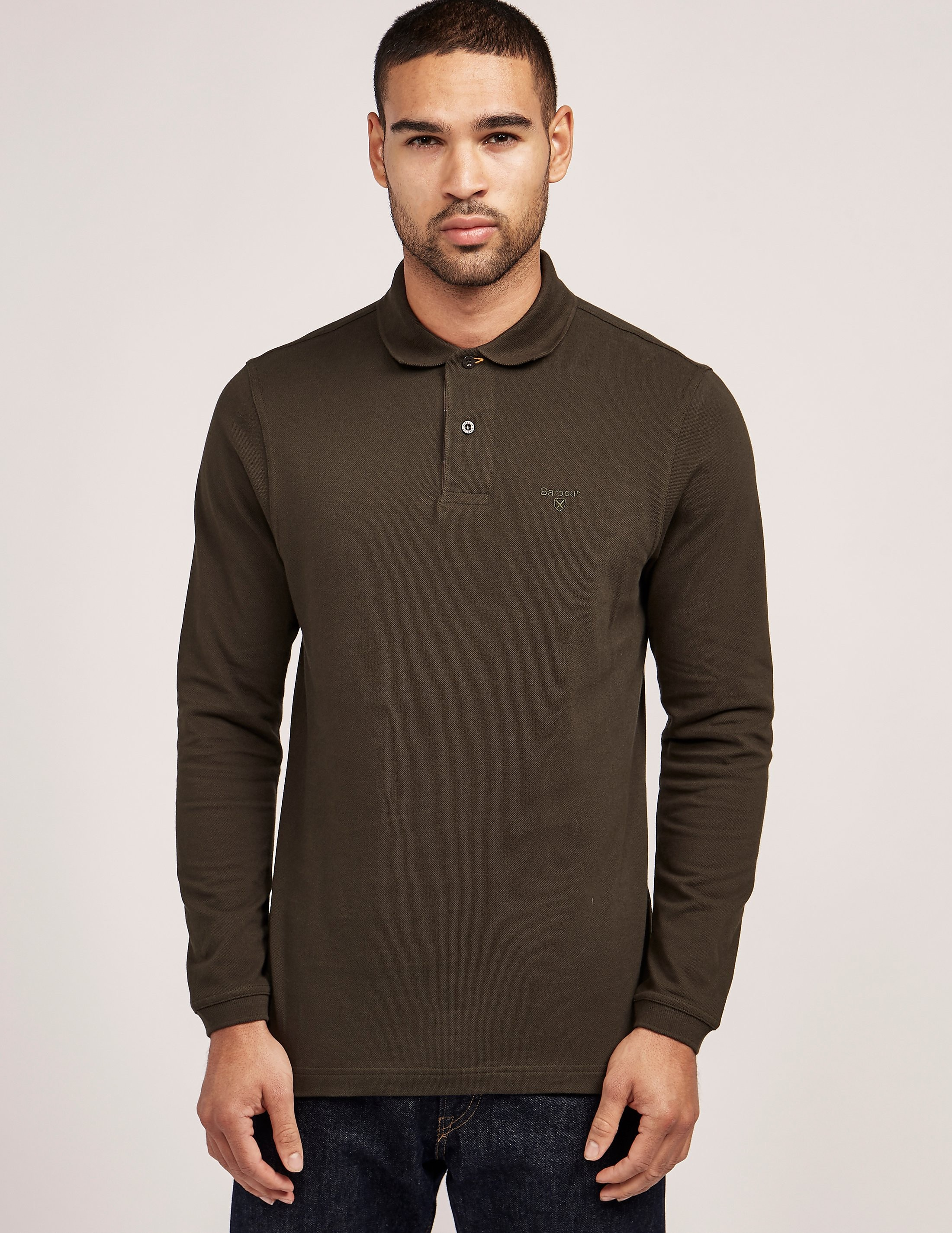 Barbour Long Sleeve Polo Shirt