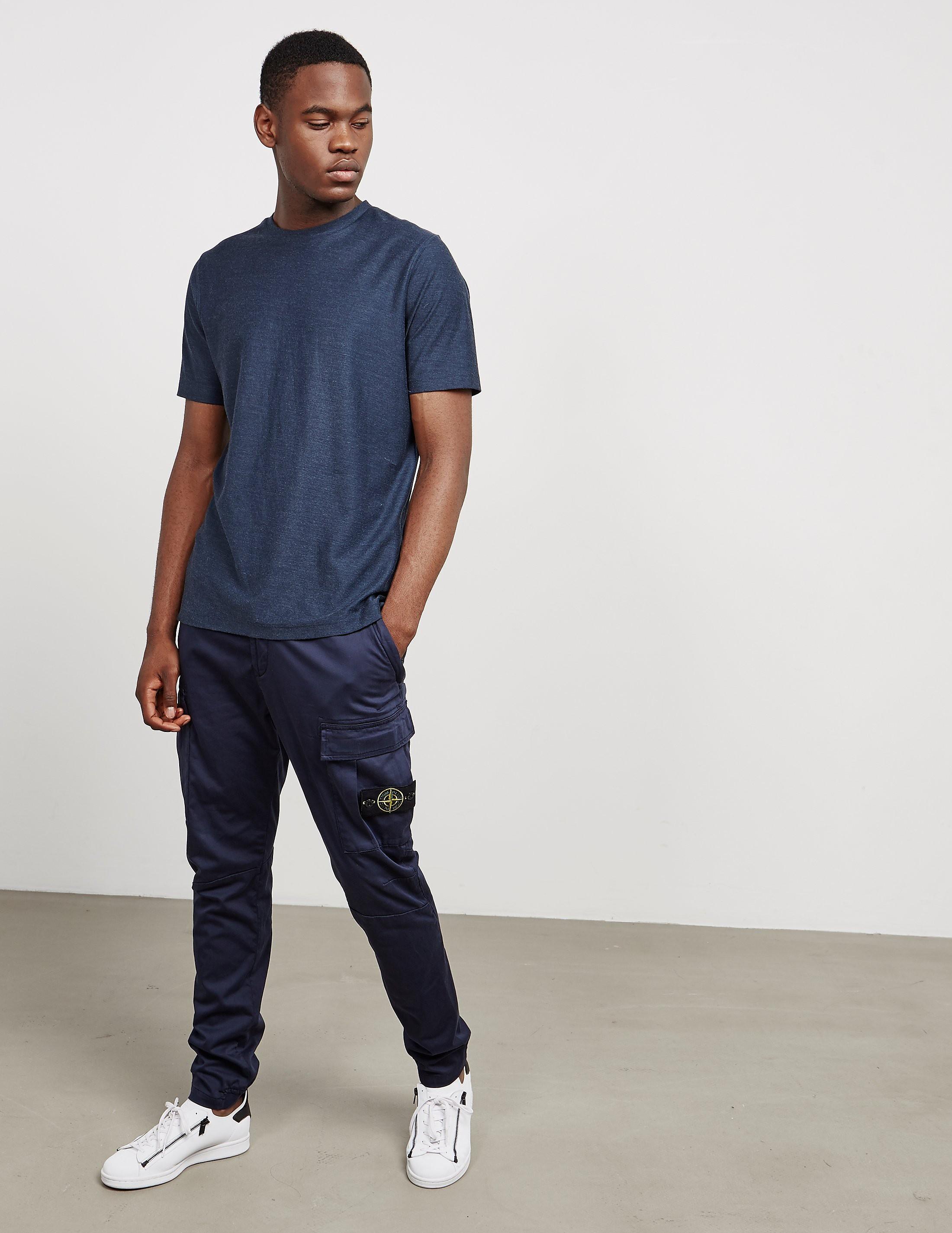 Stone Island Garment Dyed Cargo Pants