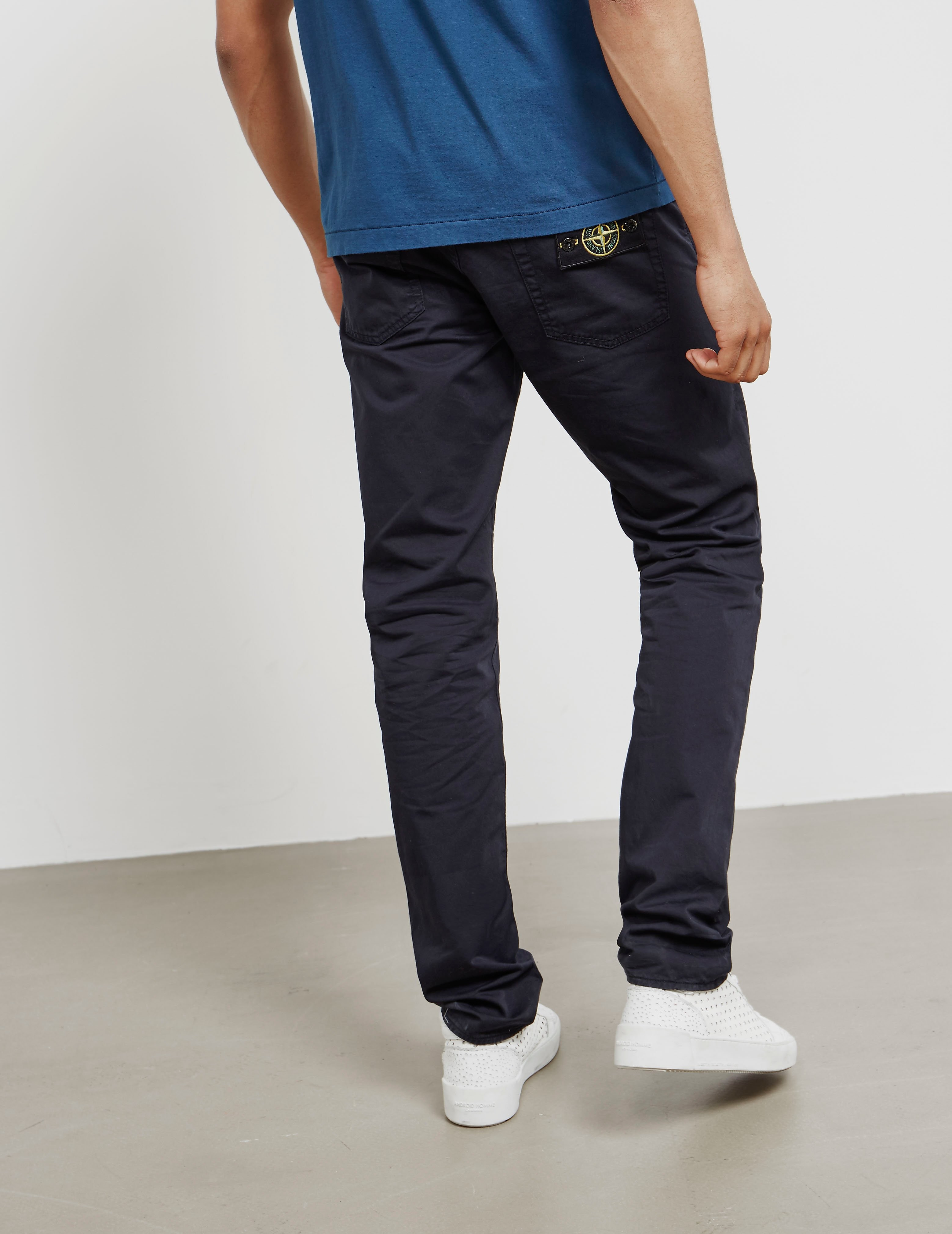 Stone Island Garment Dyed Trousers