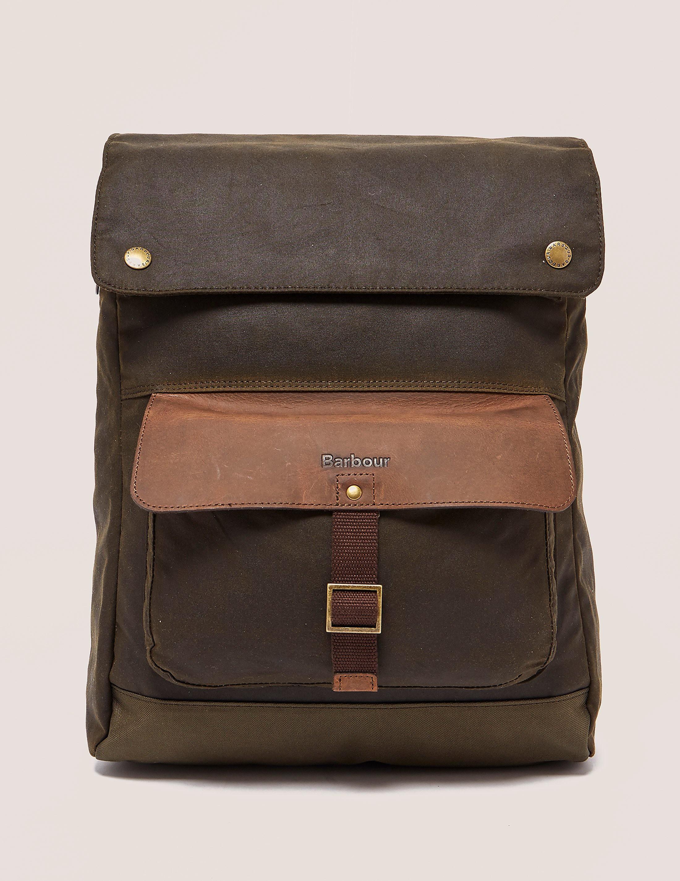 Barbour Wax Urban Backpack