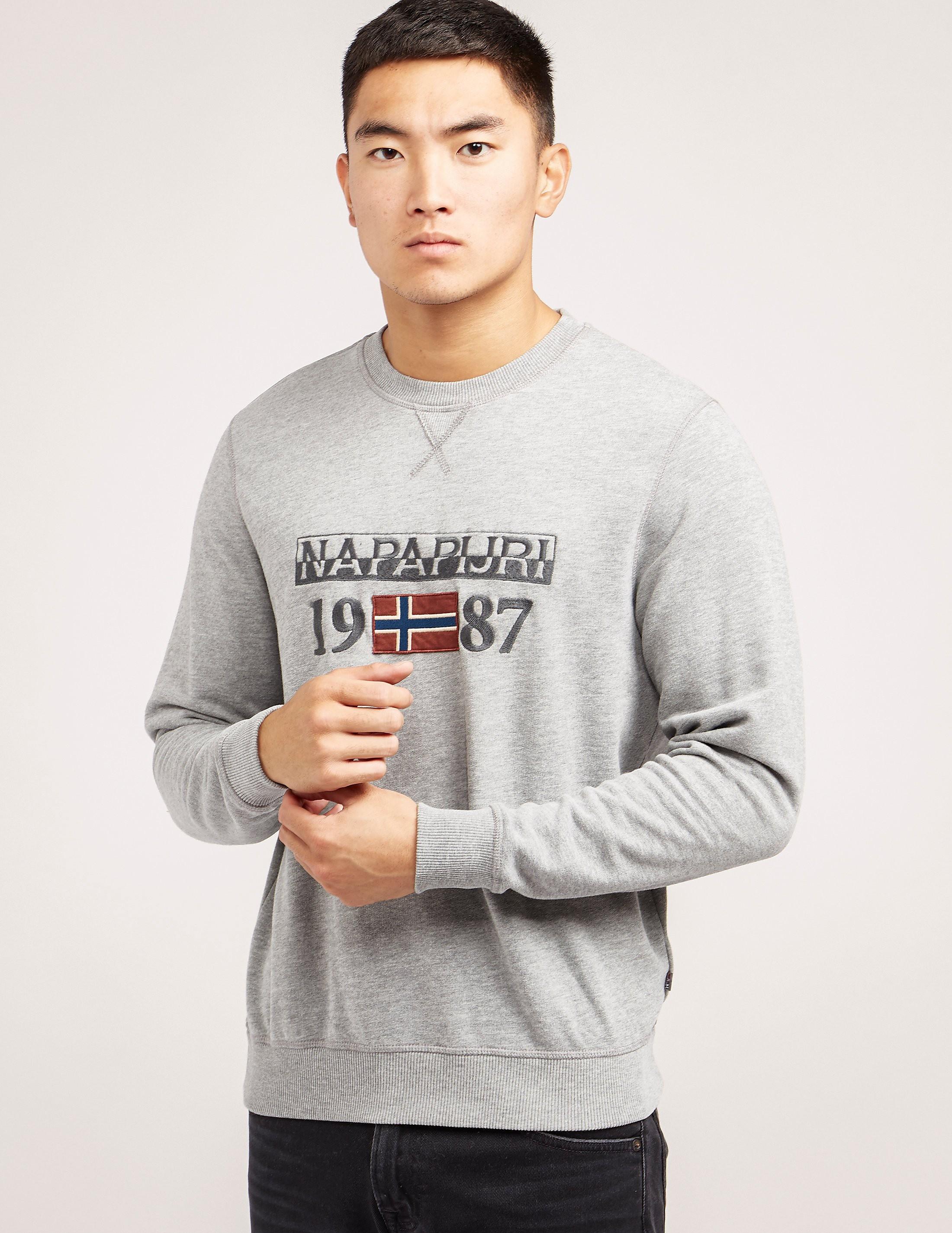 Napapijri Berthow Crew Sweatshirt