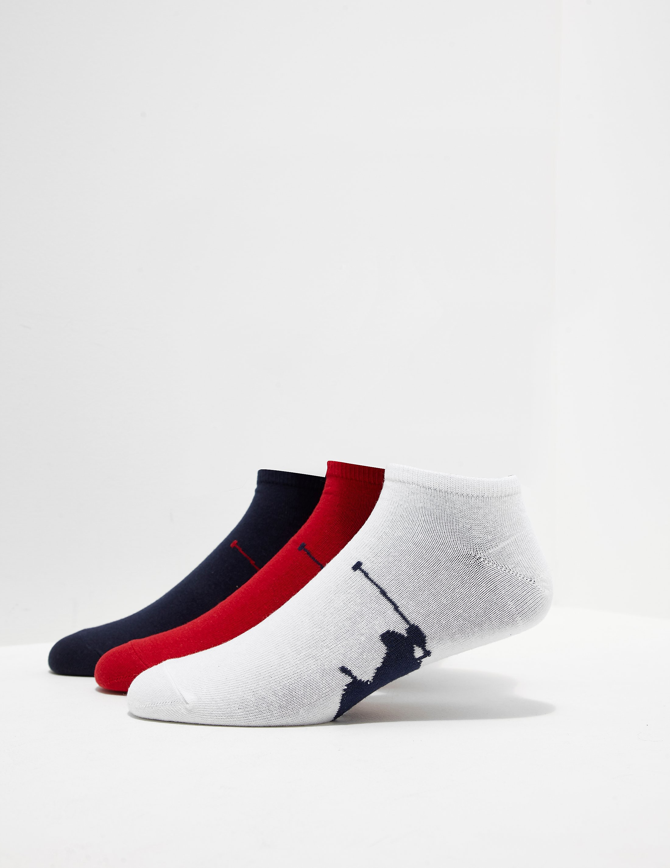 Polo Ralph Lauren 3-Pack Trainer Socks