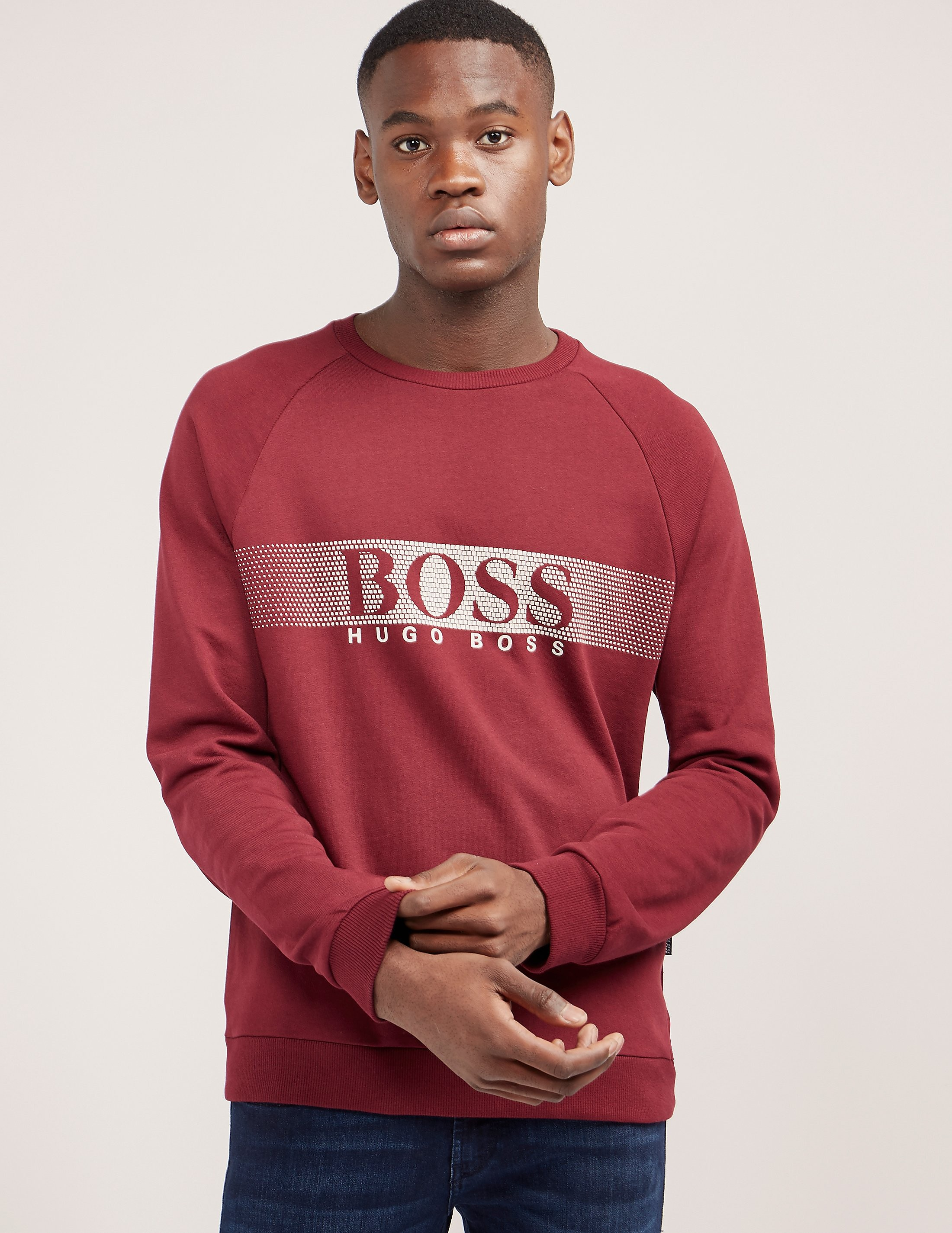 BOSS Swim Crew Neck Sweatshirt