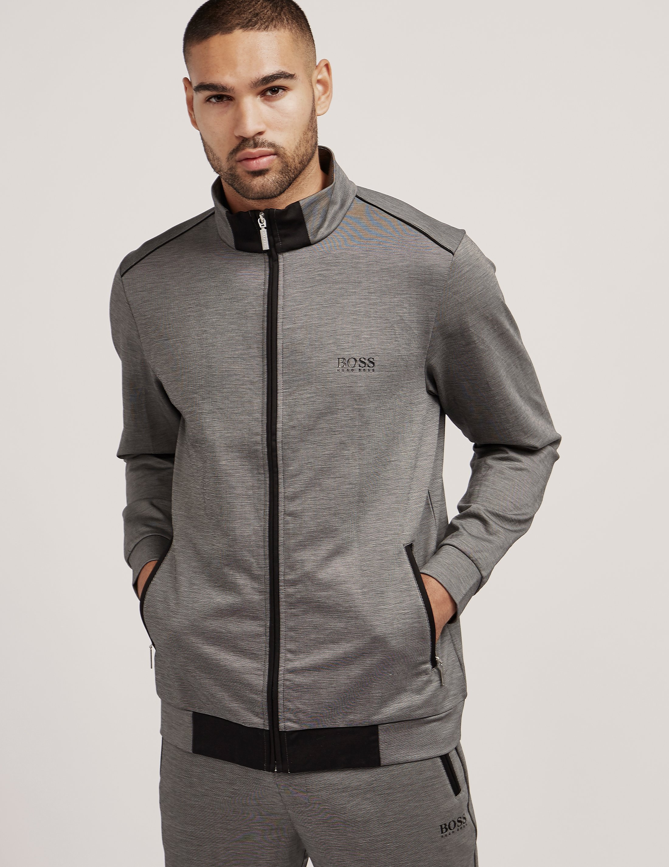 BOSS Interlock Track Top