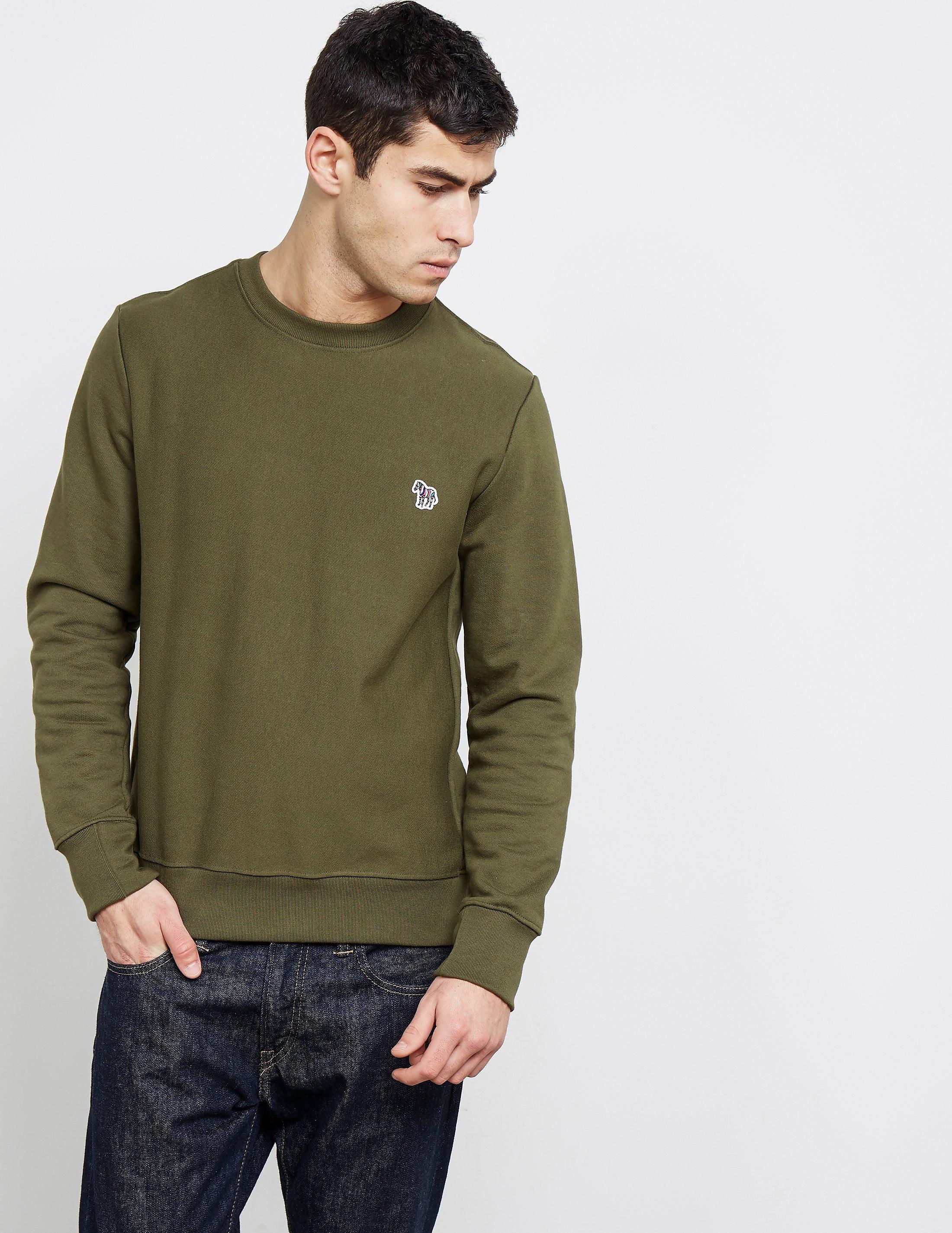 Paul Smith Zebra Crew Sweatshirt