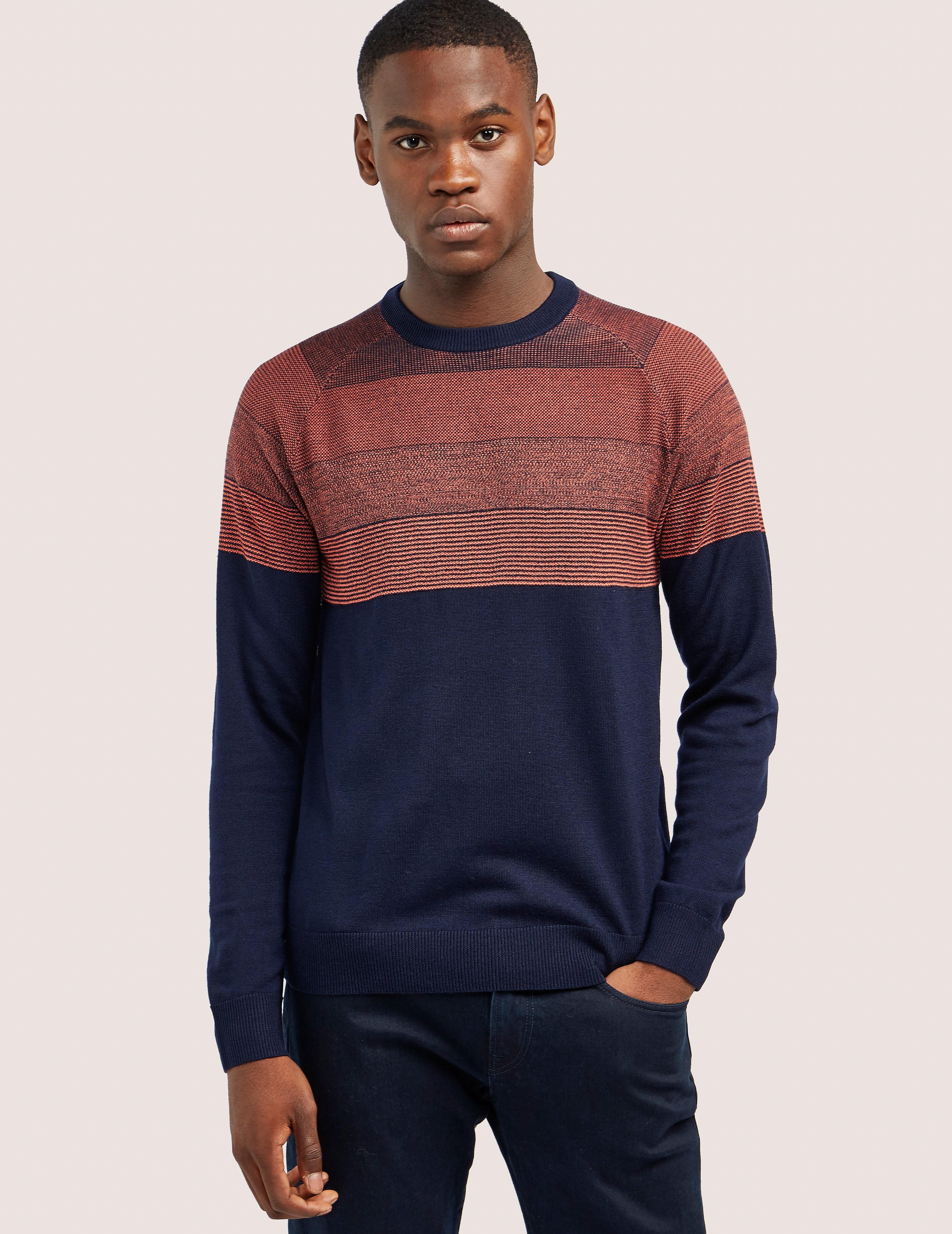 Paul Smith Contrast Long Sleeve Knit