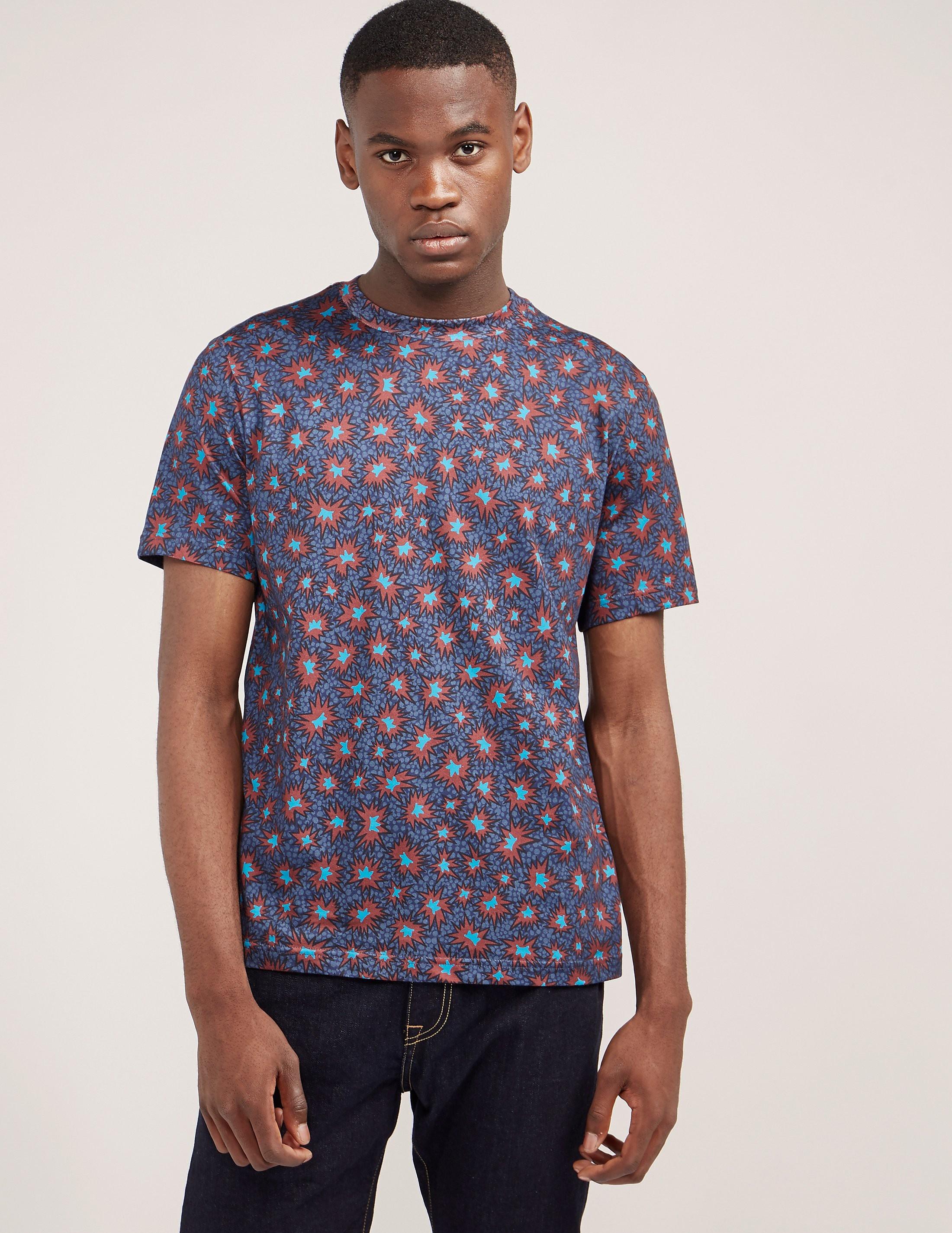 PS Paul Smith Starburst Print Short Sleeve T-Shirt