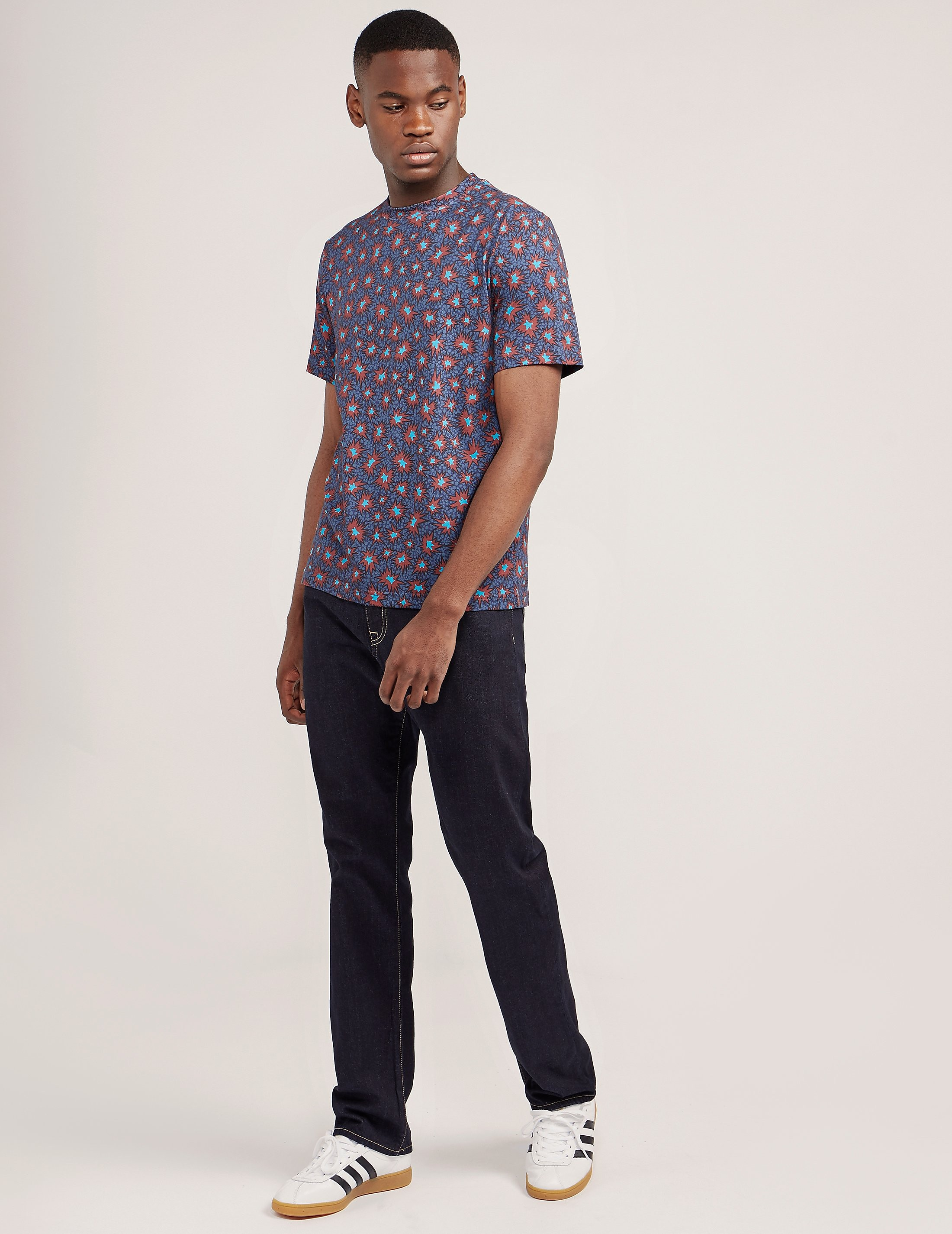 Paul Smith Starburst Print Short Sleeve T-Shirt