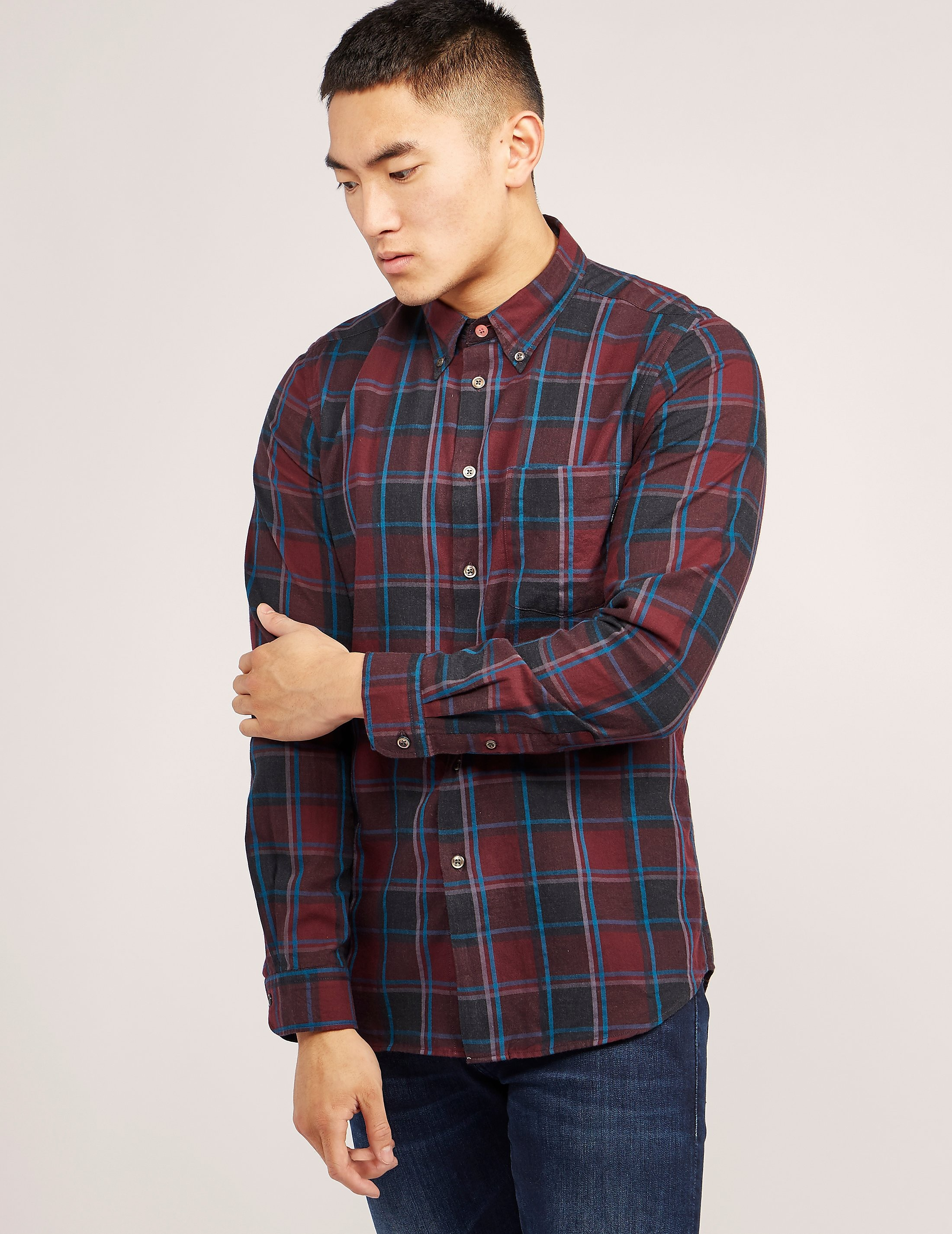 Paul Smith Checked Long Sleeve Shirt