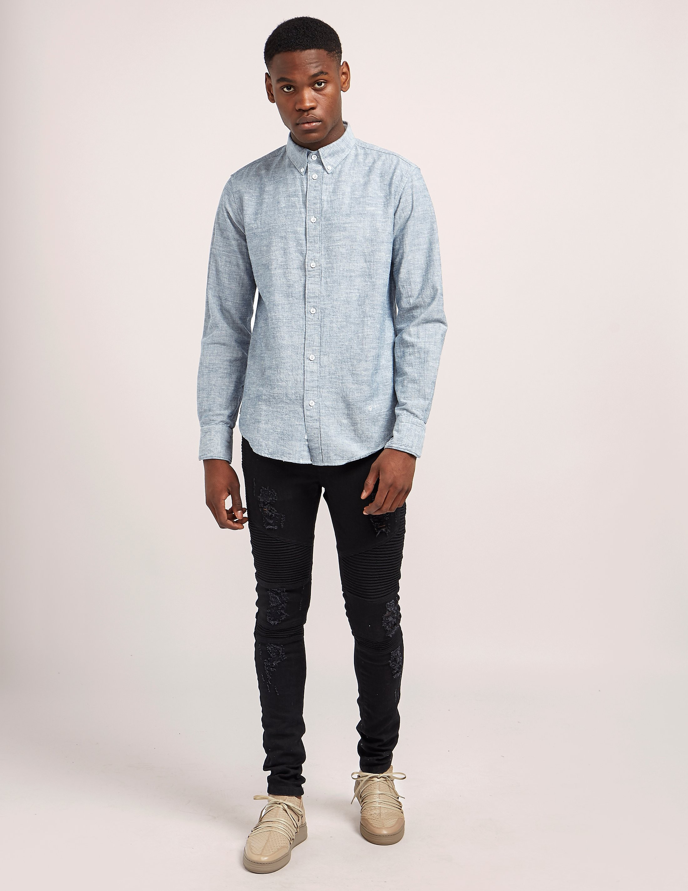 Rag & Bone Oxford Long Sleeve Shirt