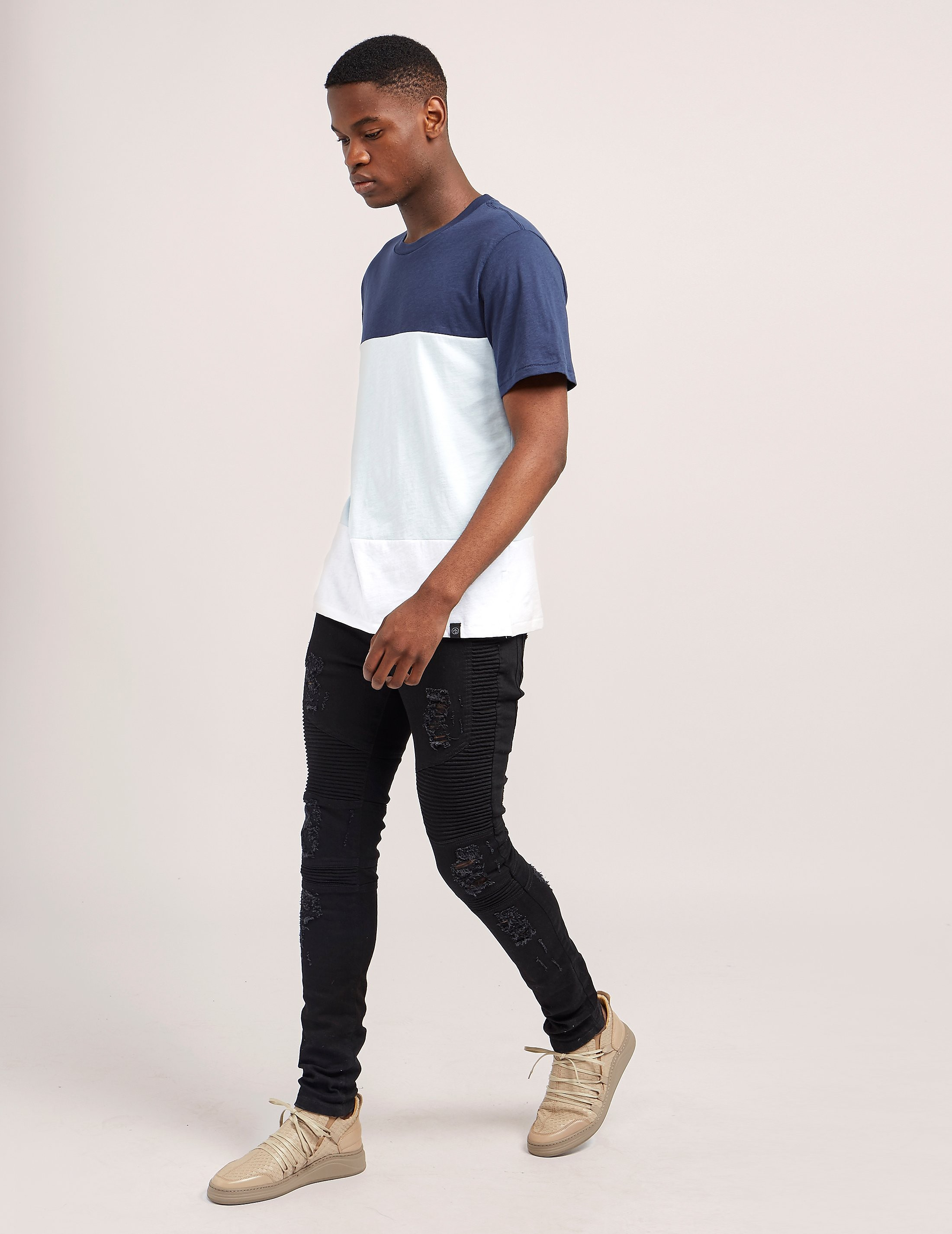 Rag & Bone Panel Short Sleeve T-Shirt