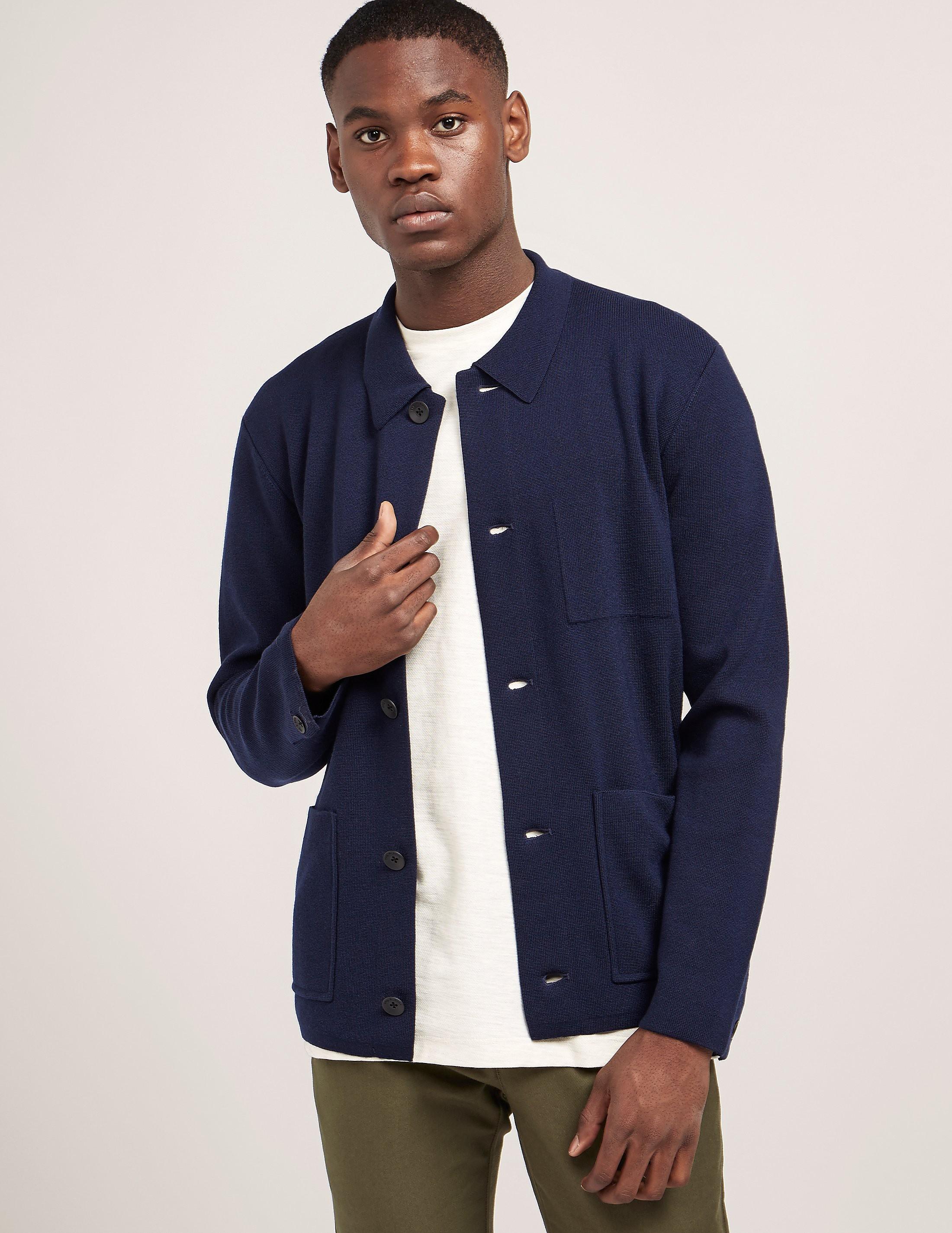 Rag & Bone Light Knit Button Down Jacket
