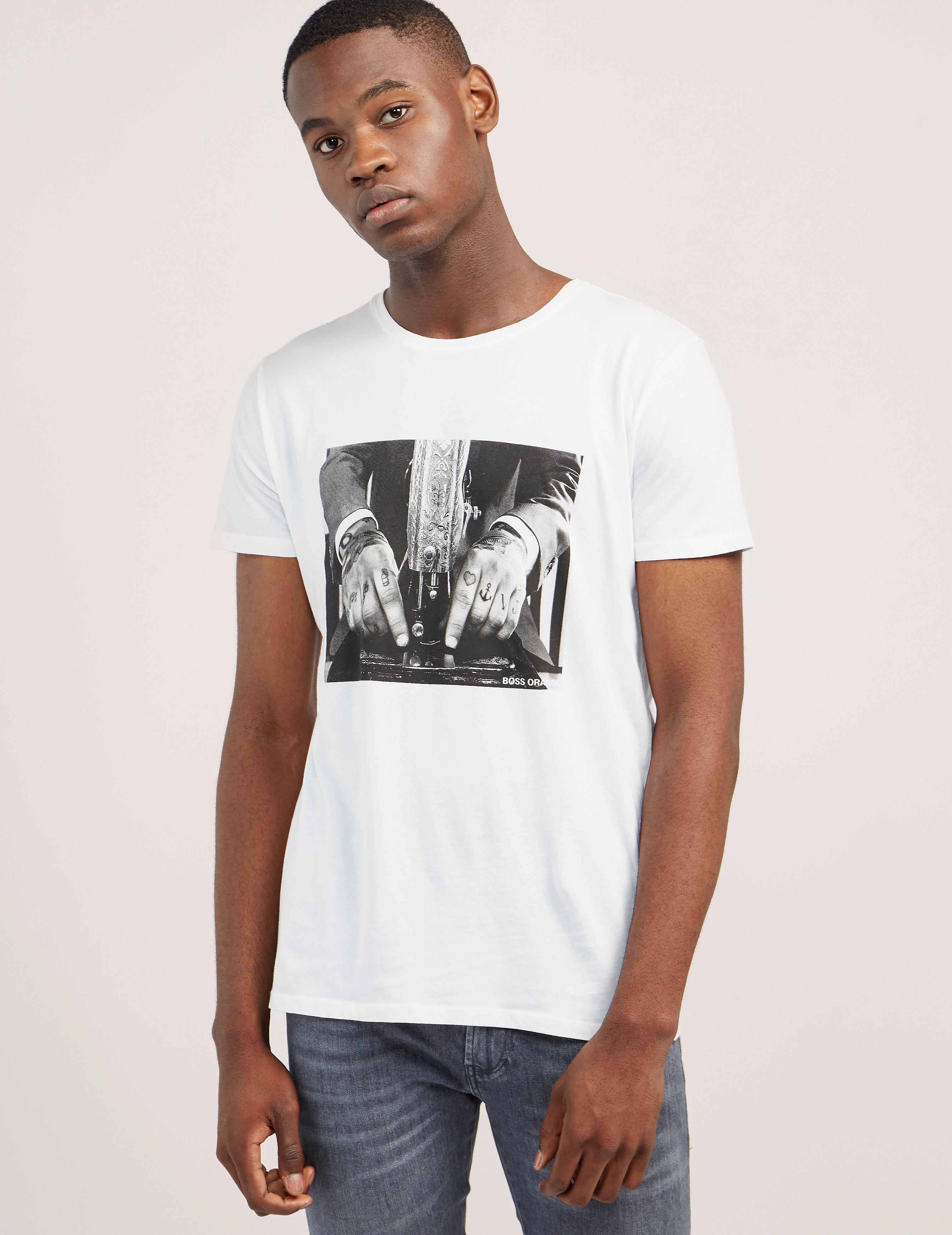 BOSS Orange Taboo 3 Short Sleeve T-Shirt