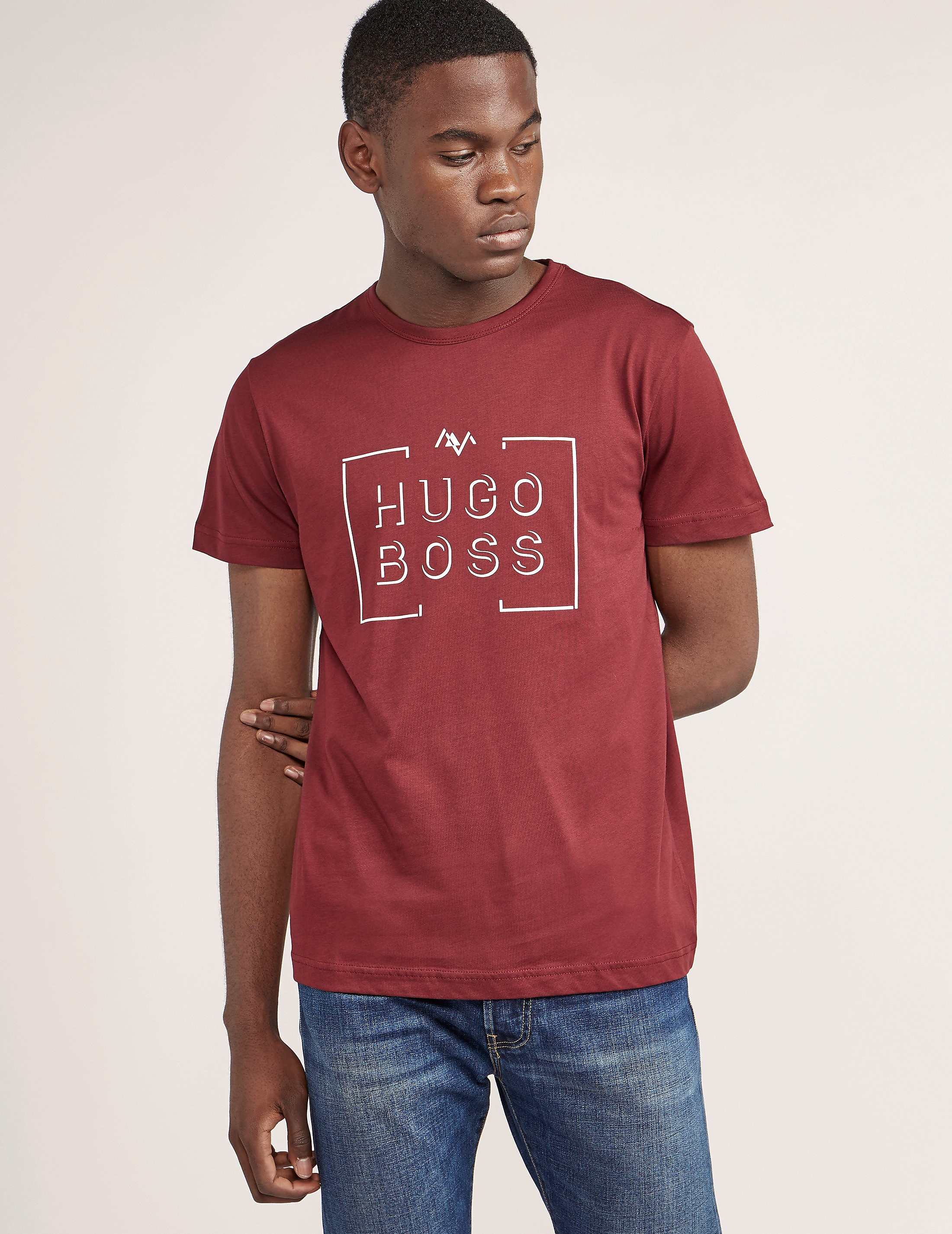 BOSS Green Box Short Sleeve T-Shirt