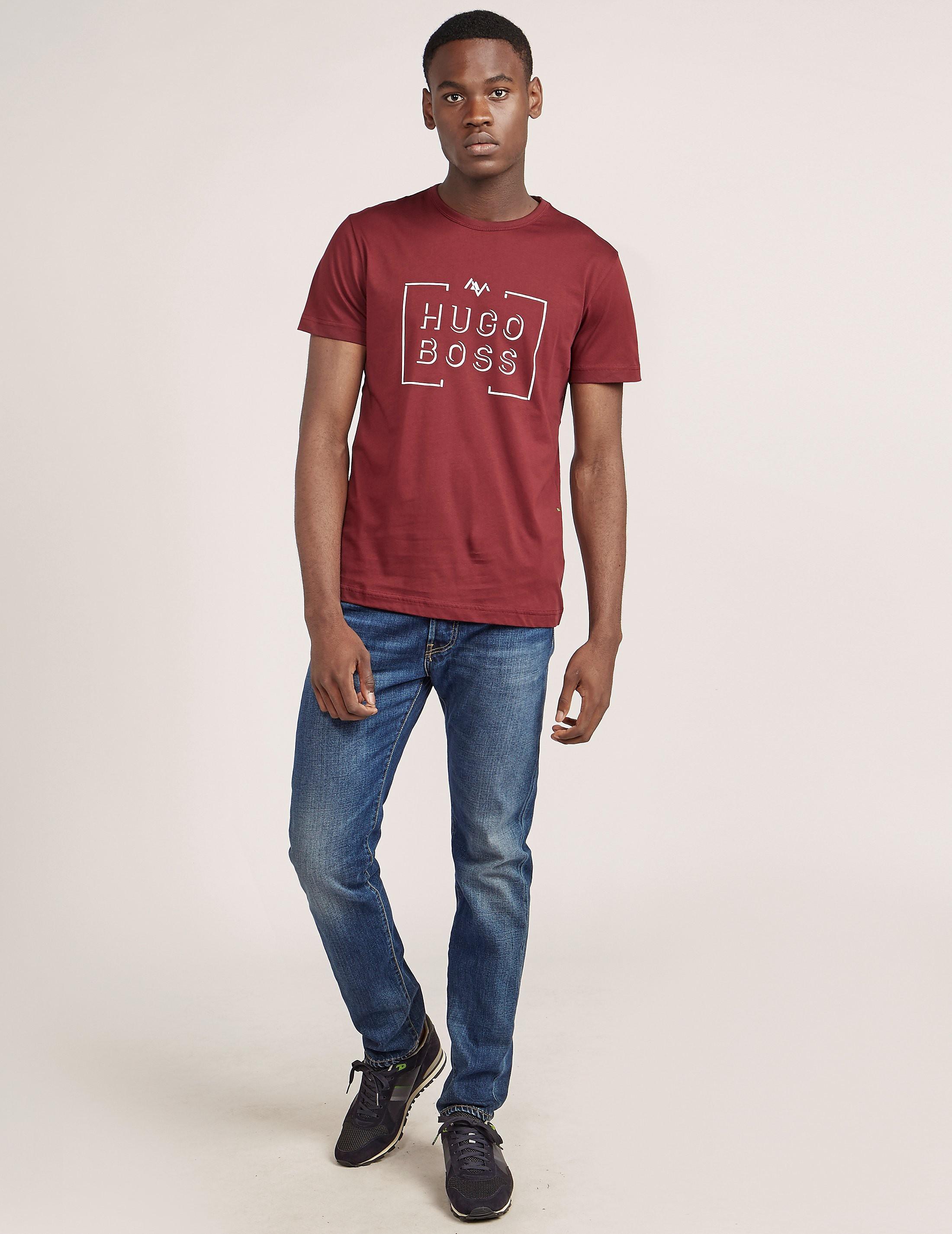 BOSS Green Box Short Sleeve T-Shirt