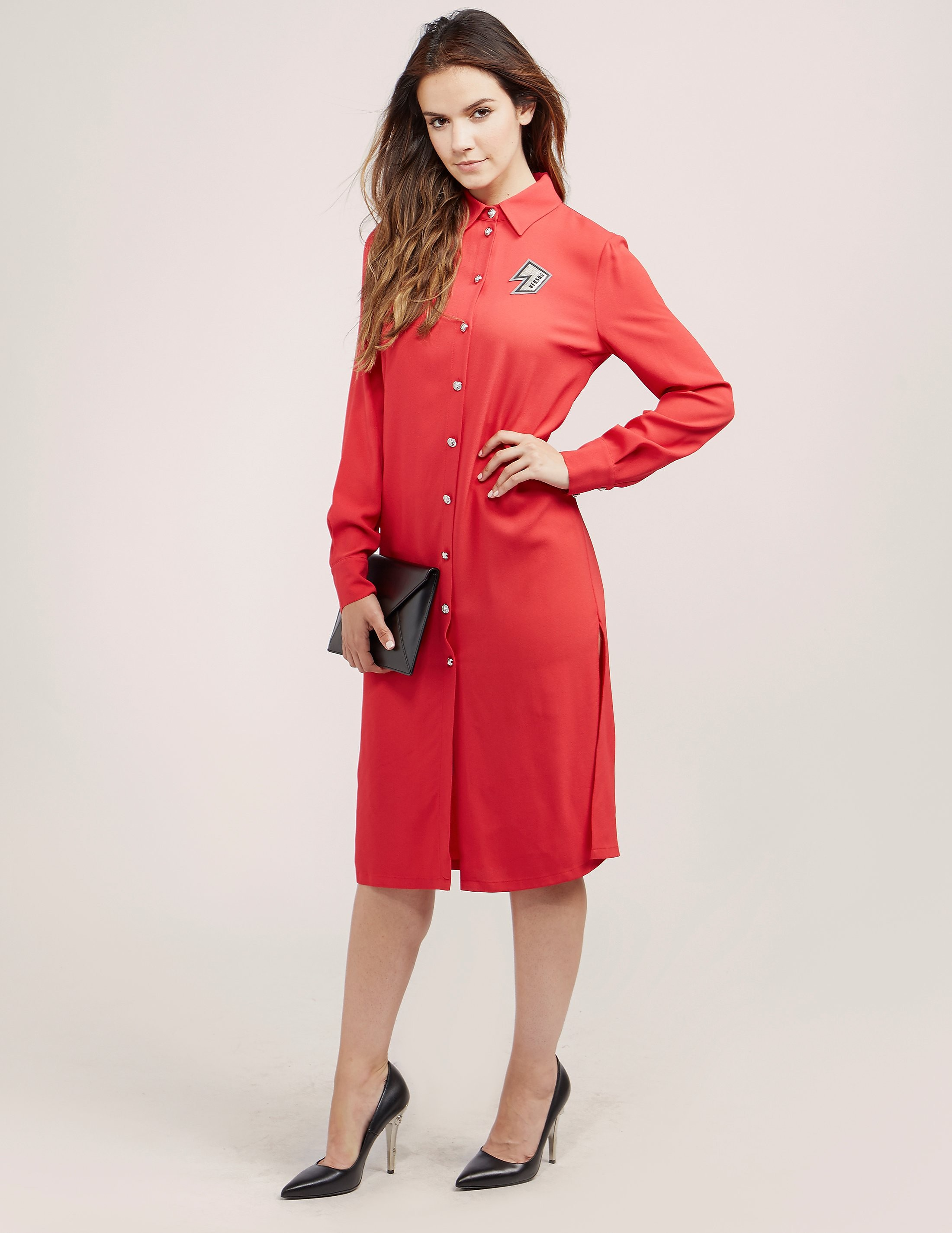 Versus Versace Shirt Dress