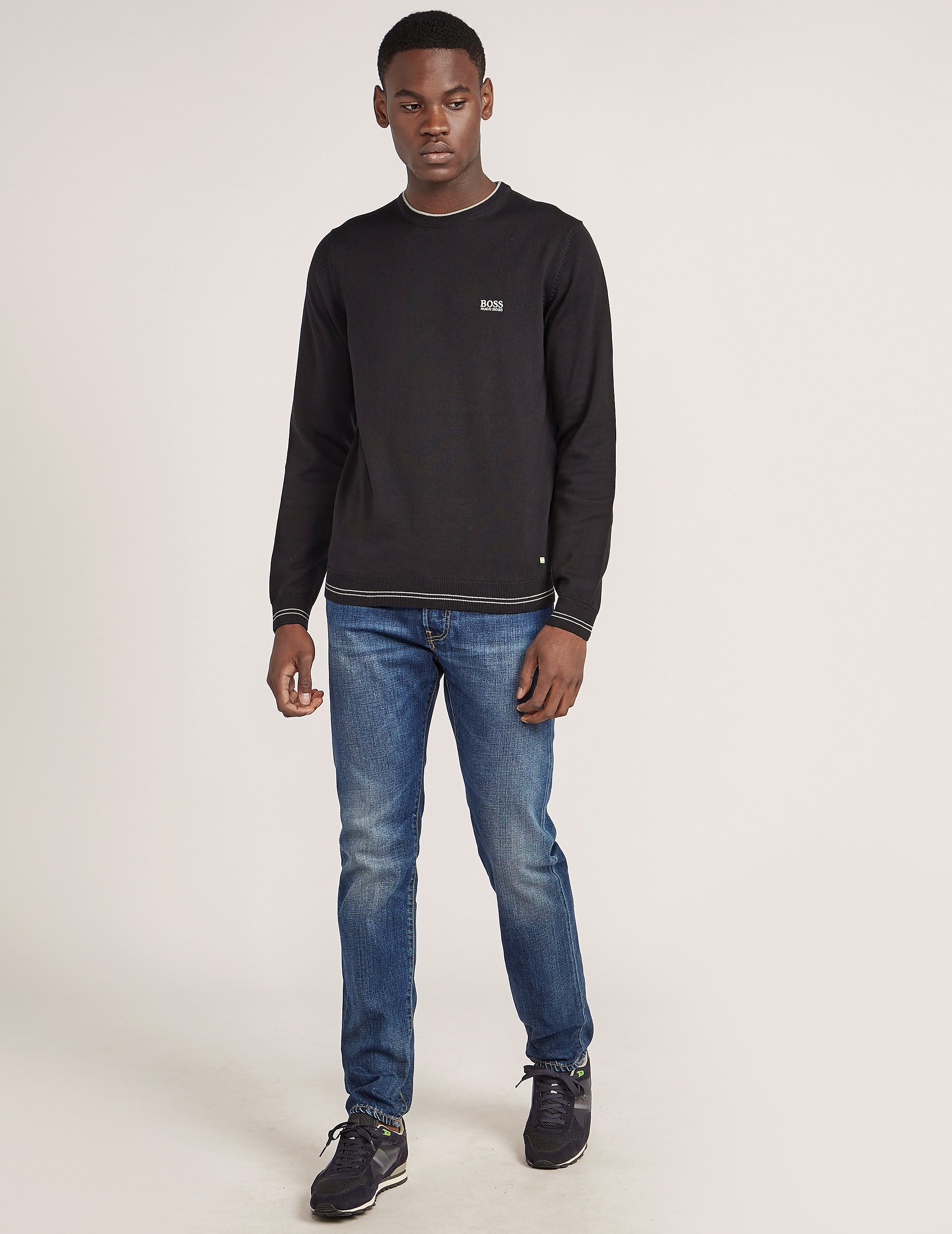 BOSS Green Rime Crew Neck Knit