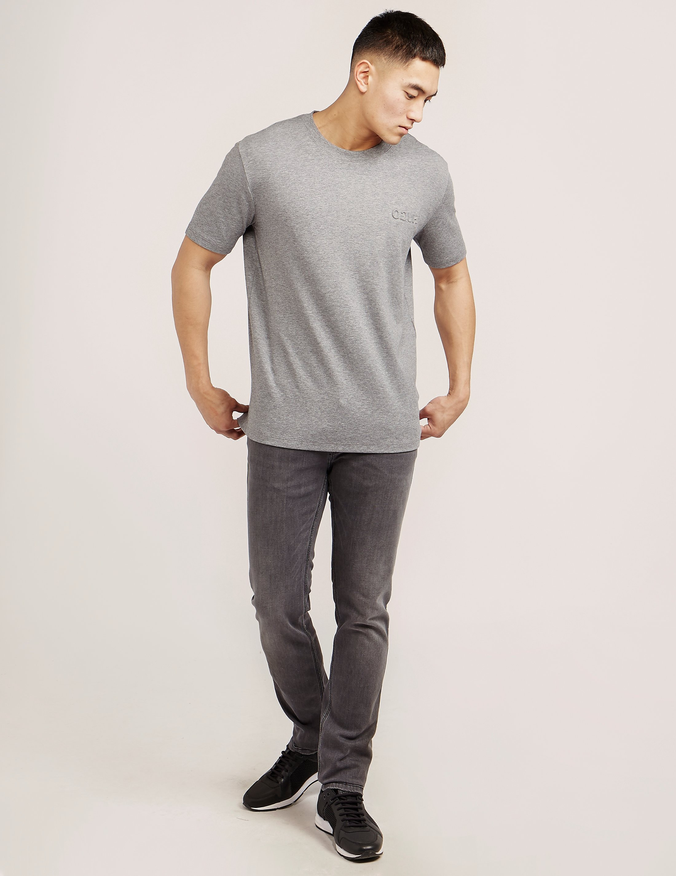 HUGO Embossed Short Sleeve T-Shirt