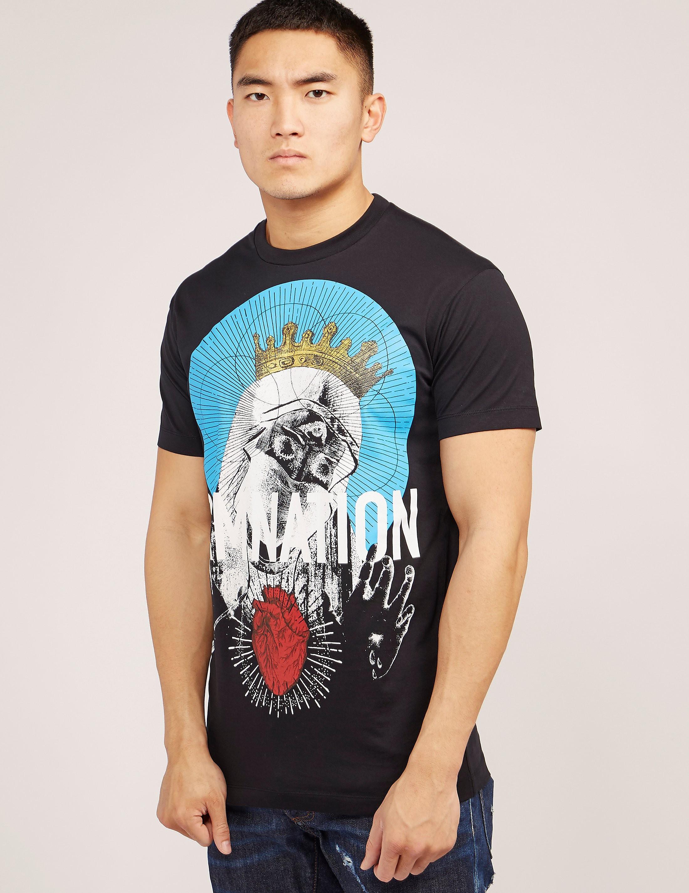 DSQUARED2 Damnation Short Sleeve T-Shirt