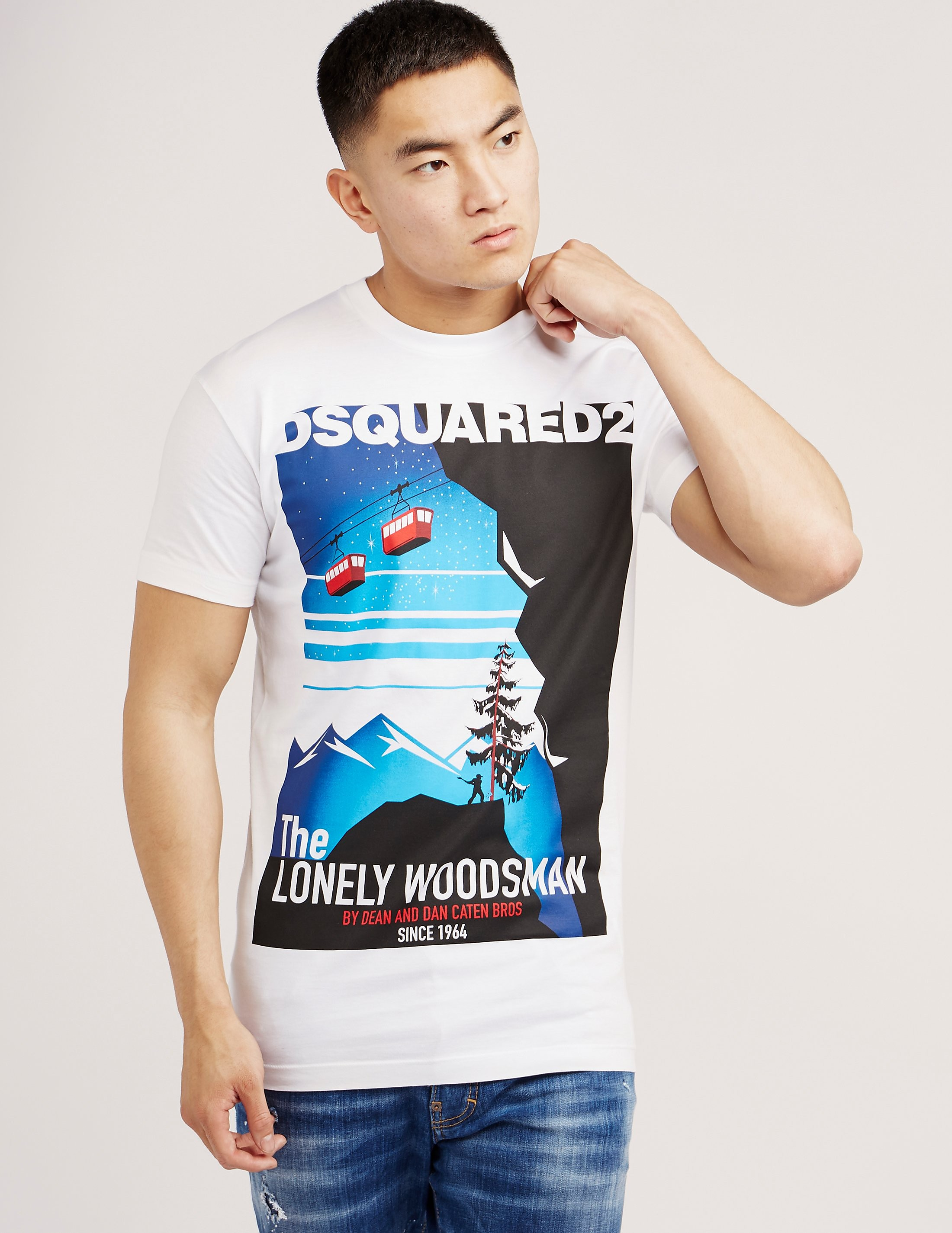 DSQUARED2 Woodman Short Sleeve T-Shirt