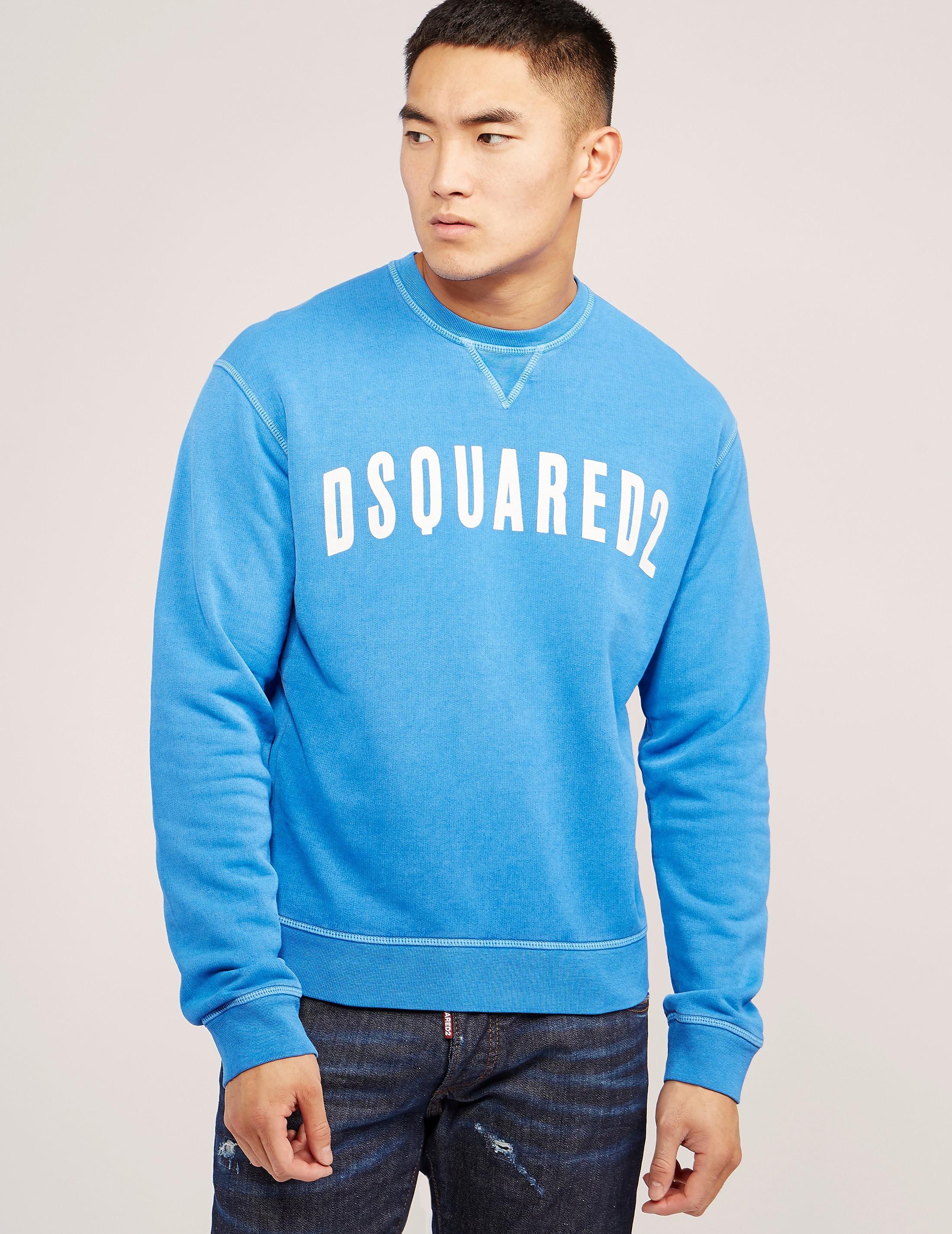 DSQUARED2 Curve Logo Sweatshirt