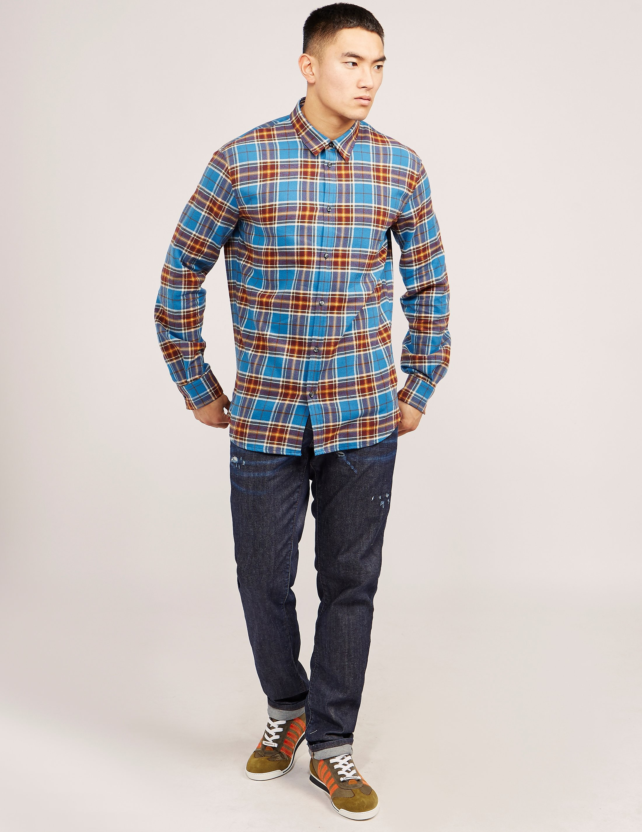 DSQUARED2 Flannel Long Sleeve Shirt
