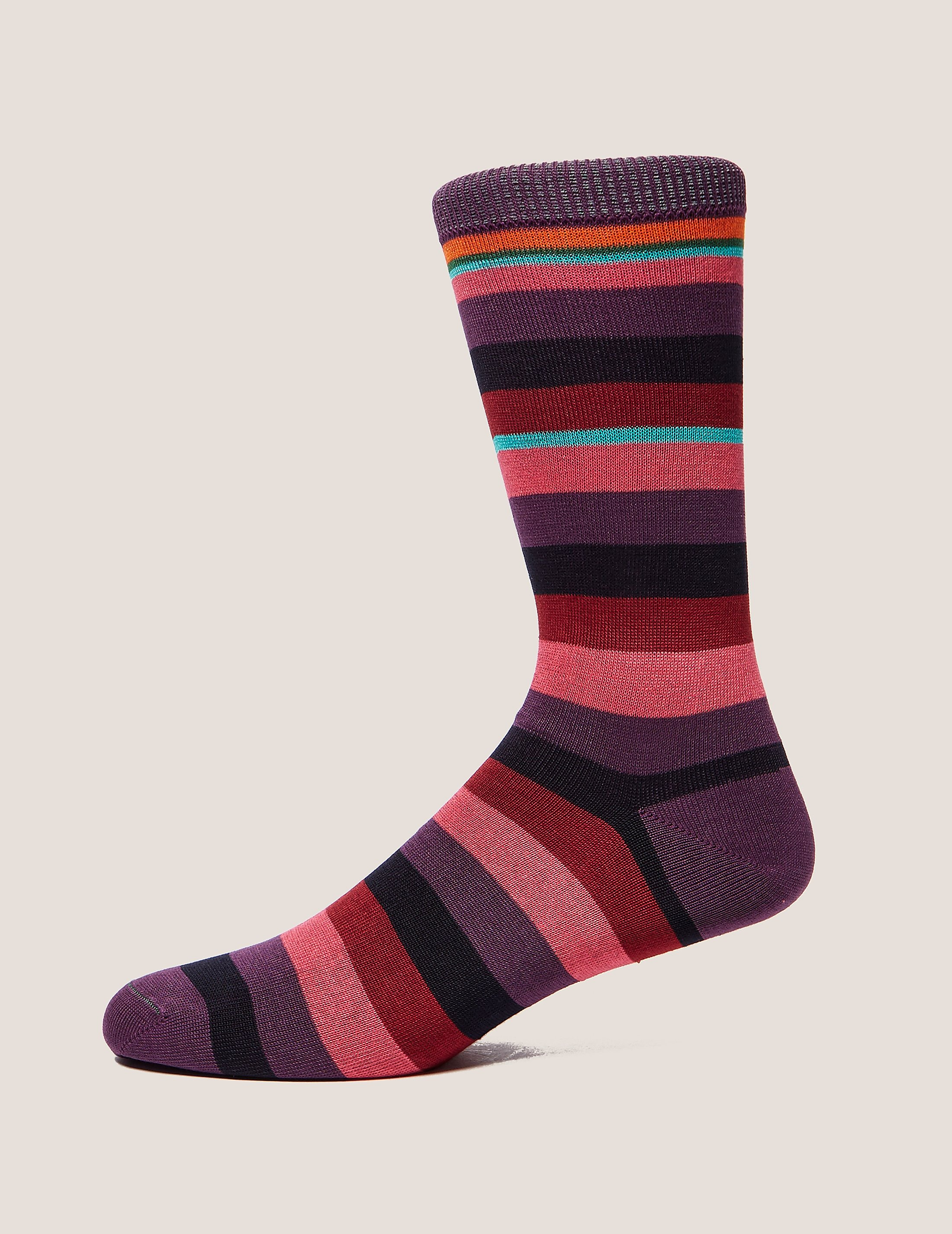 Paul Smith Valentine Stripe Socks