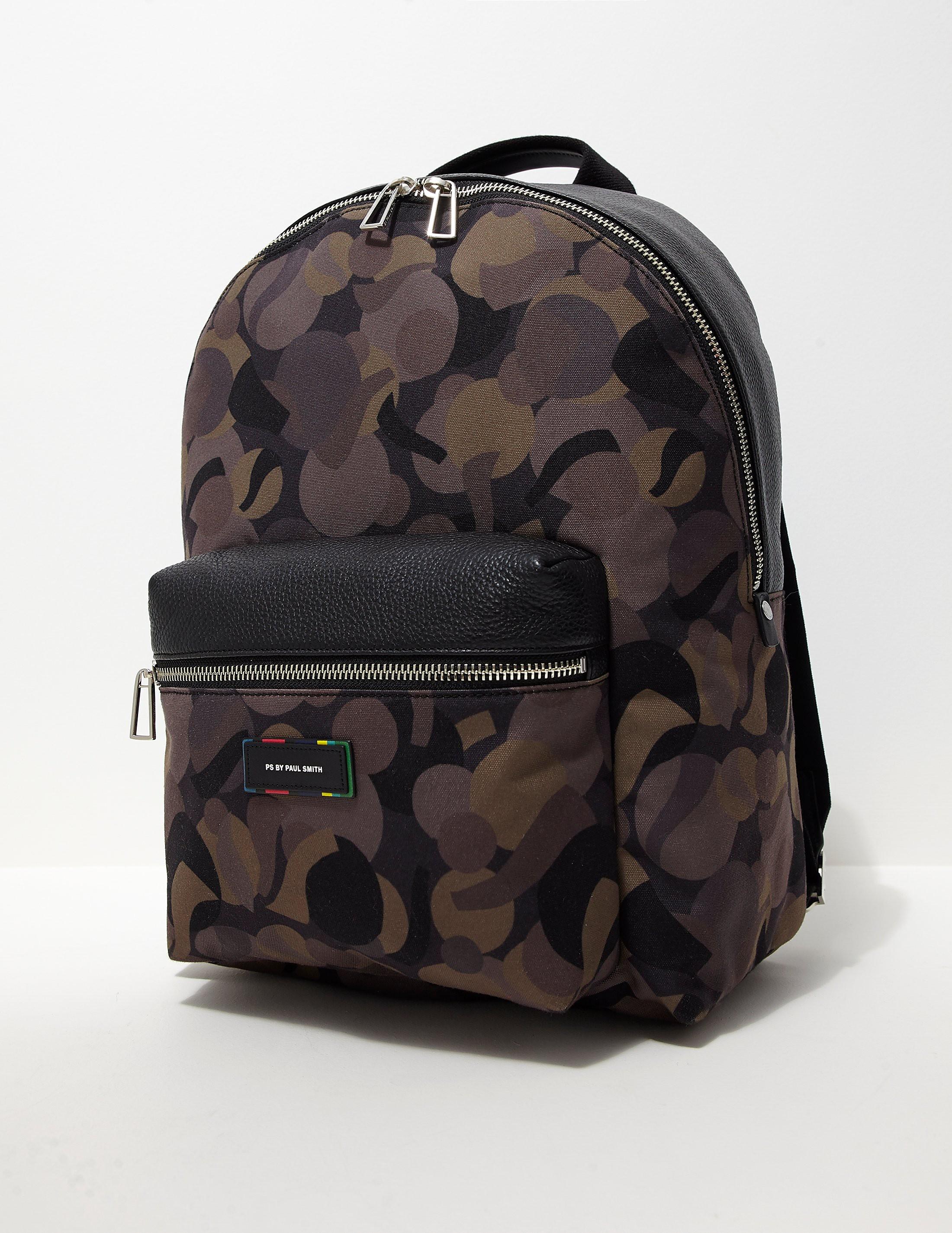 Paul Smith Camoflauge Backpack