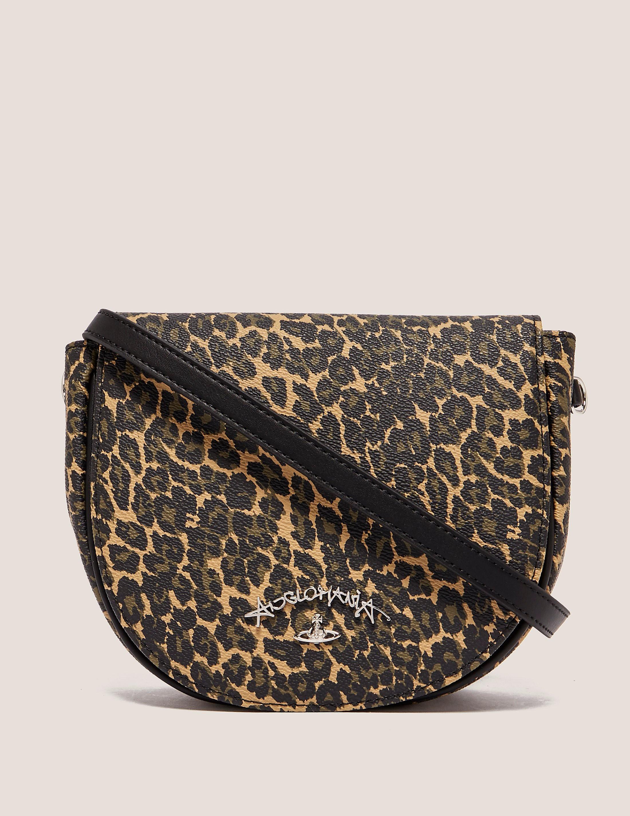 Vivienne Westwood Anglomania Leopard Shoulder Bag