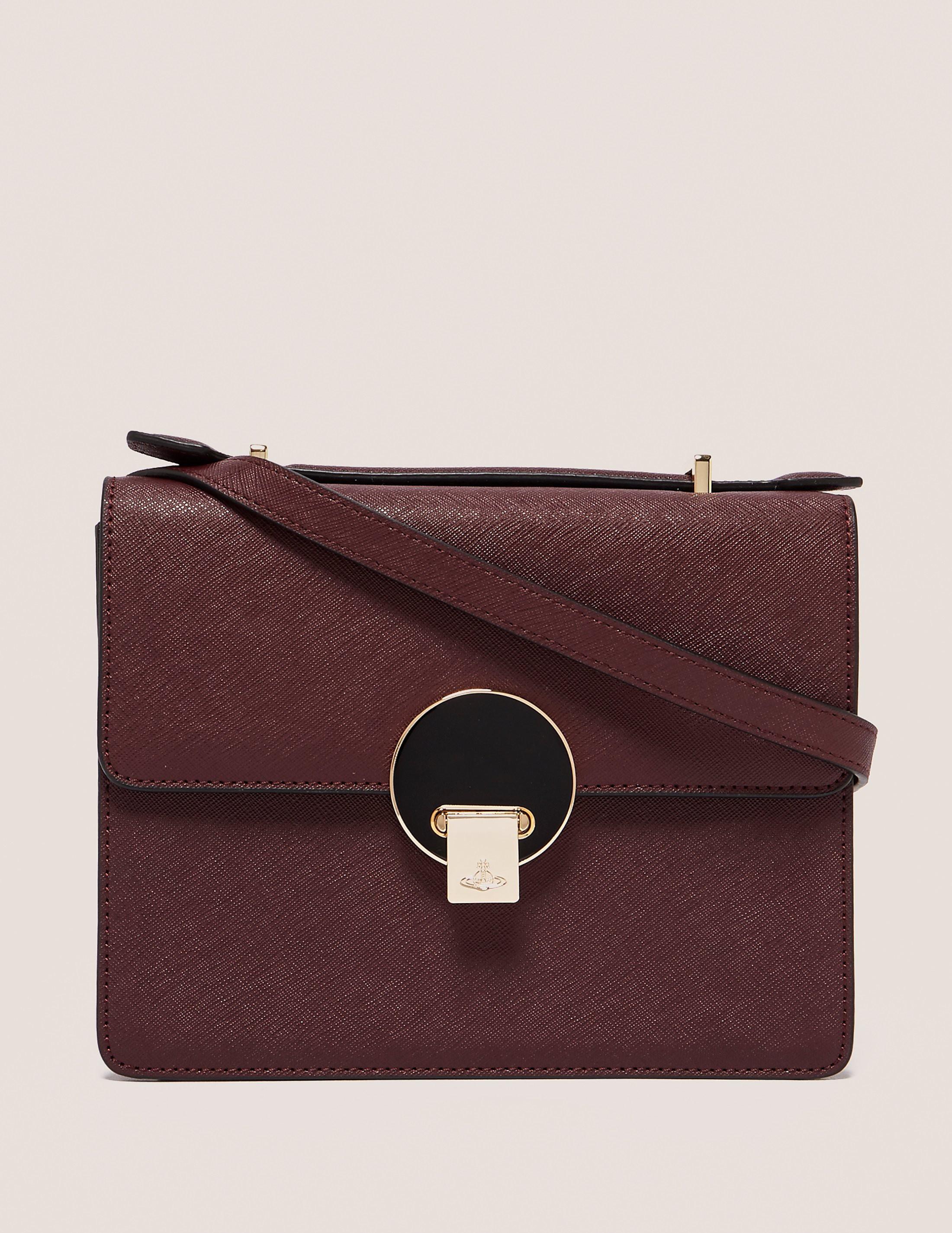 Vivienne Westwood Saffiano Shoulder Bag