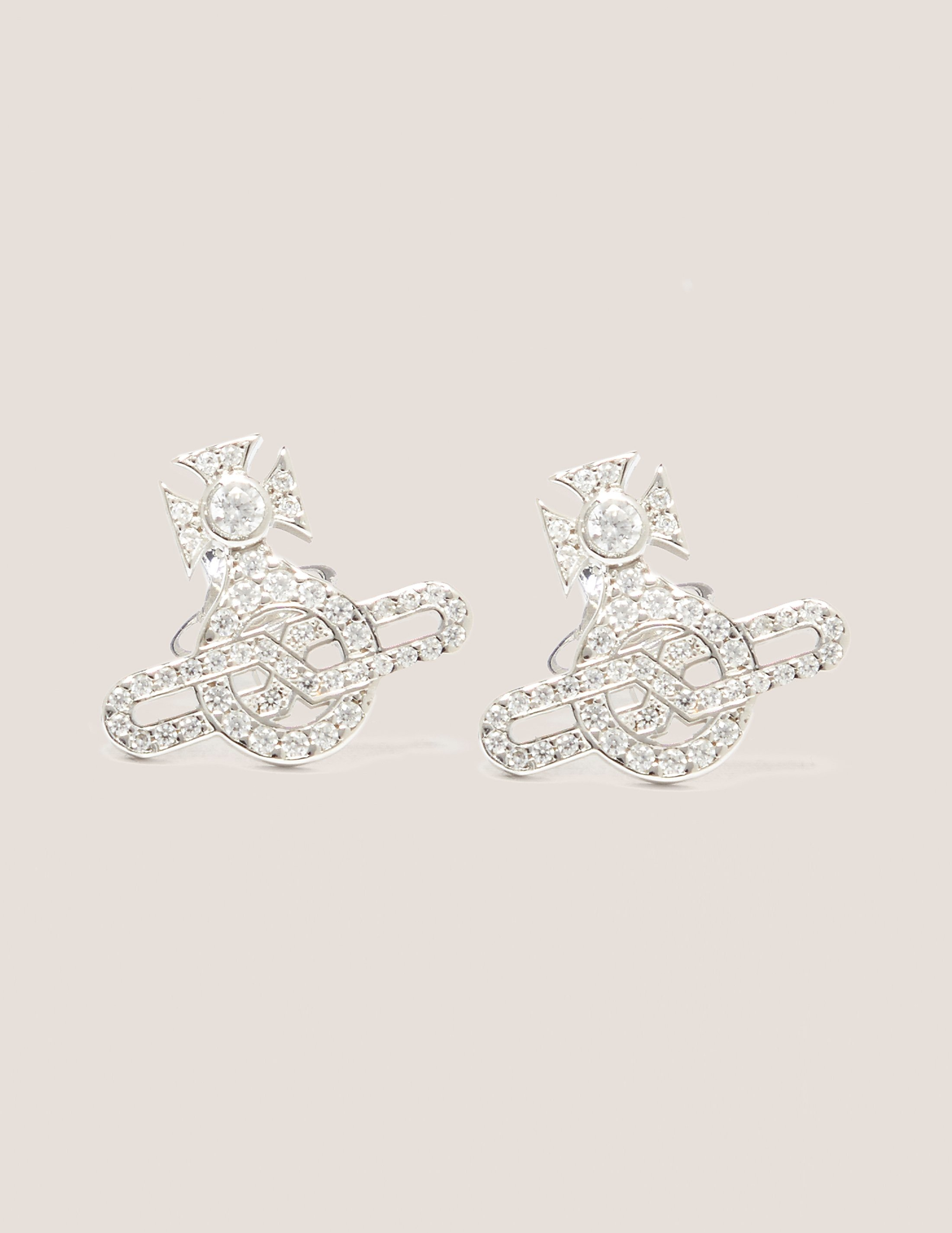 Vivienne Westwood Infinity Orb Earrings