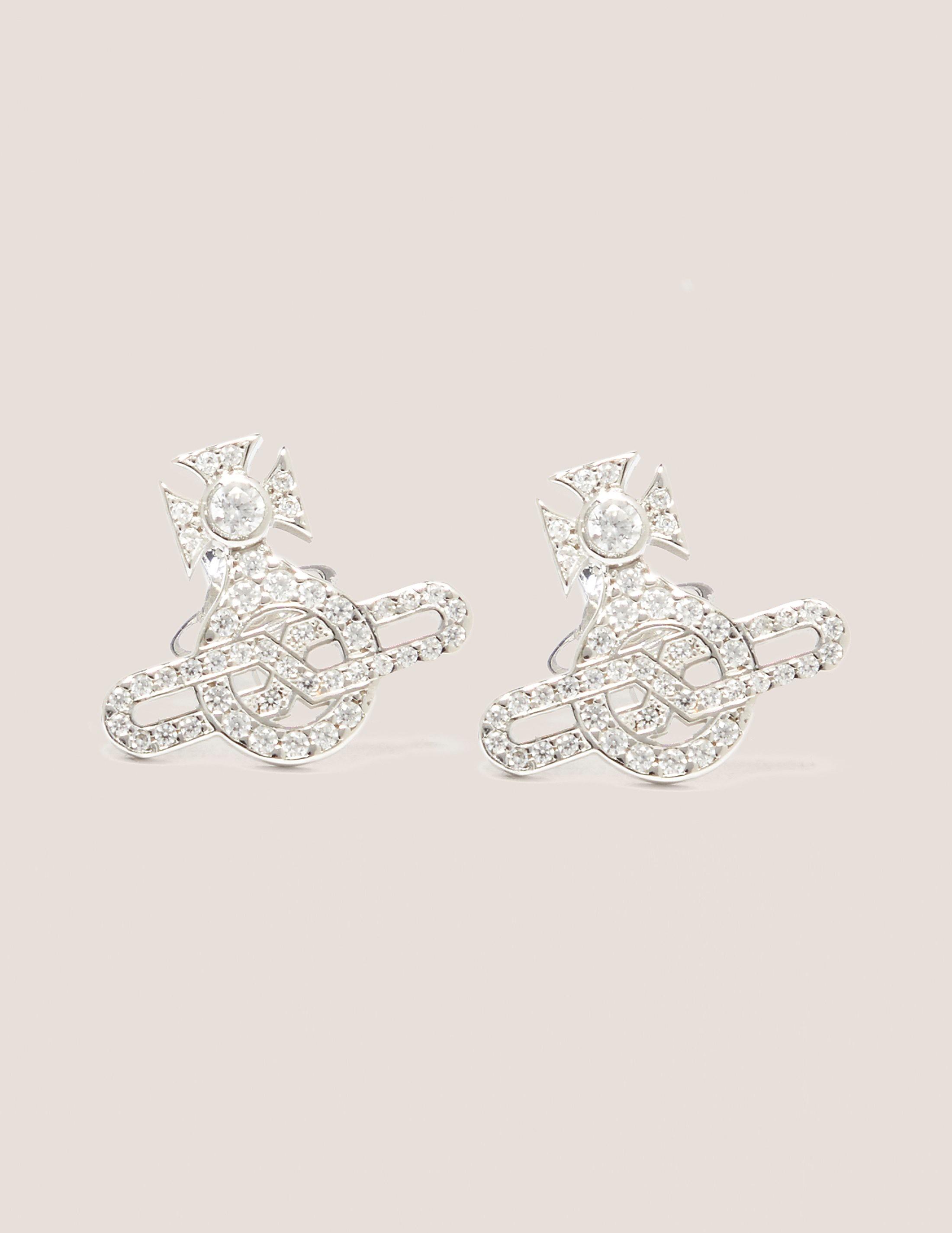 Vivienne Westwood Infinity Orb Earrings
