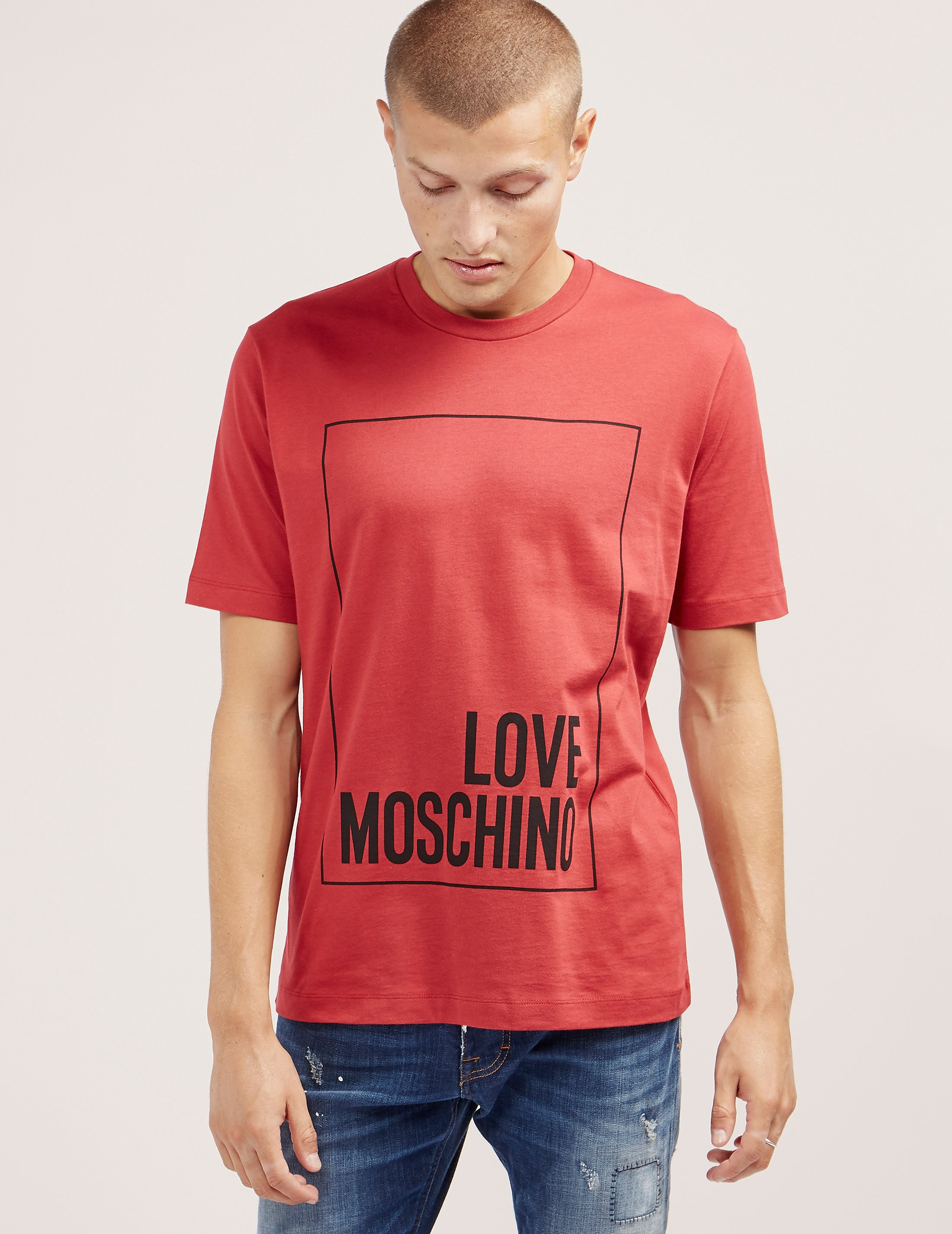 Love Moschino Large Box Short Sleeve T-Shirt