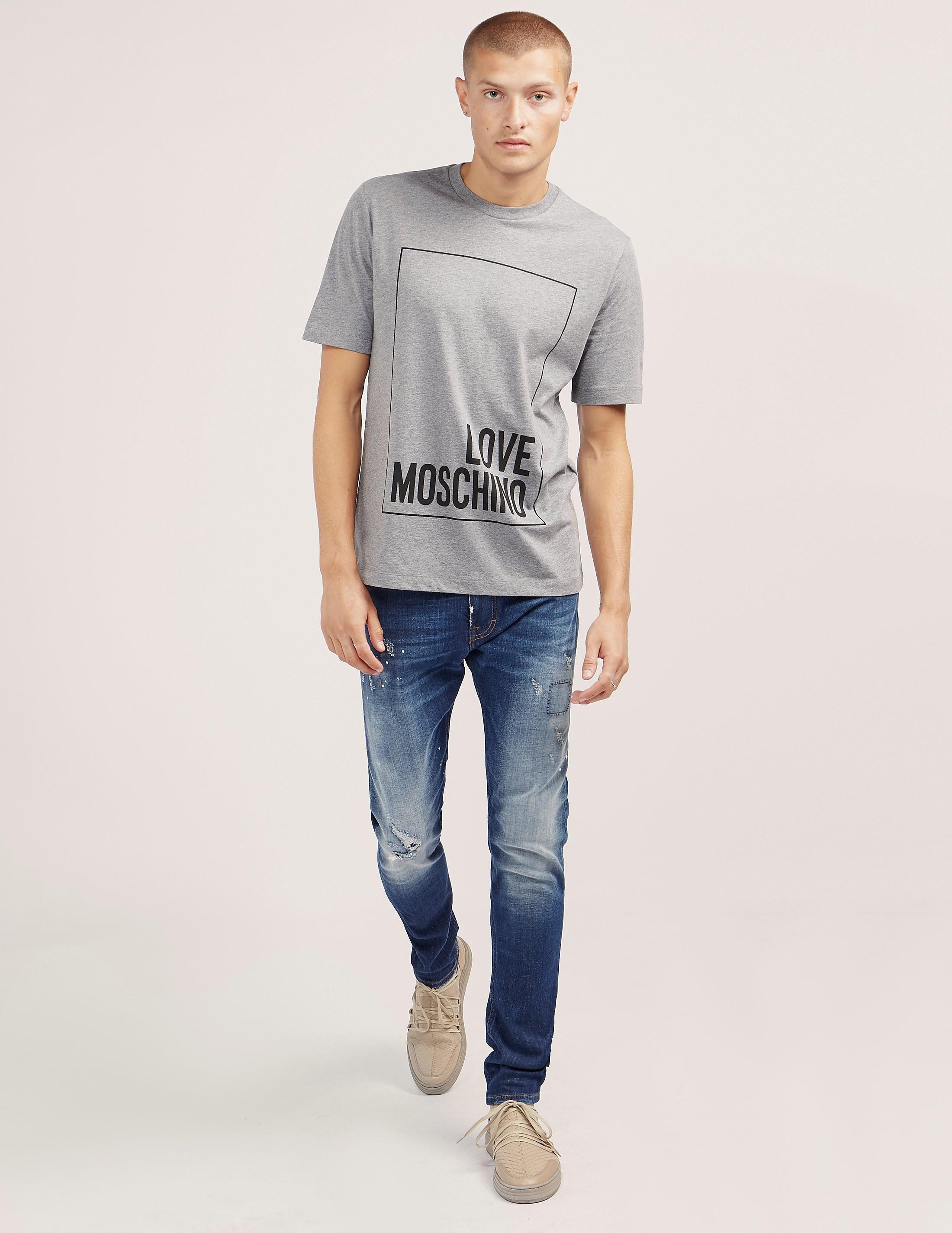 Love Moschino Large Box Short Sleeve T-Shirt