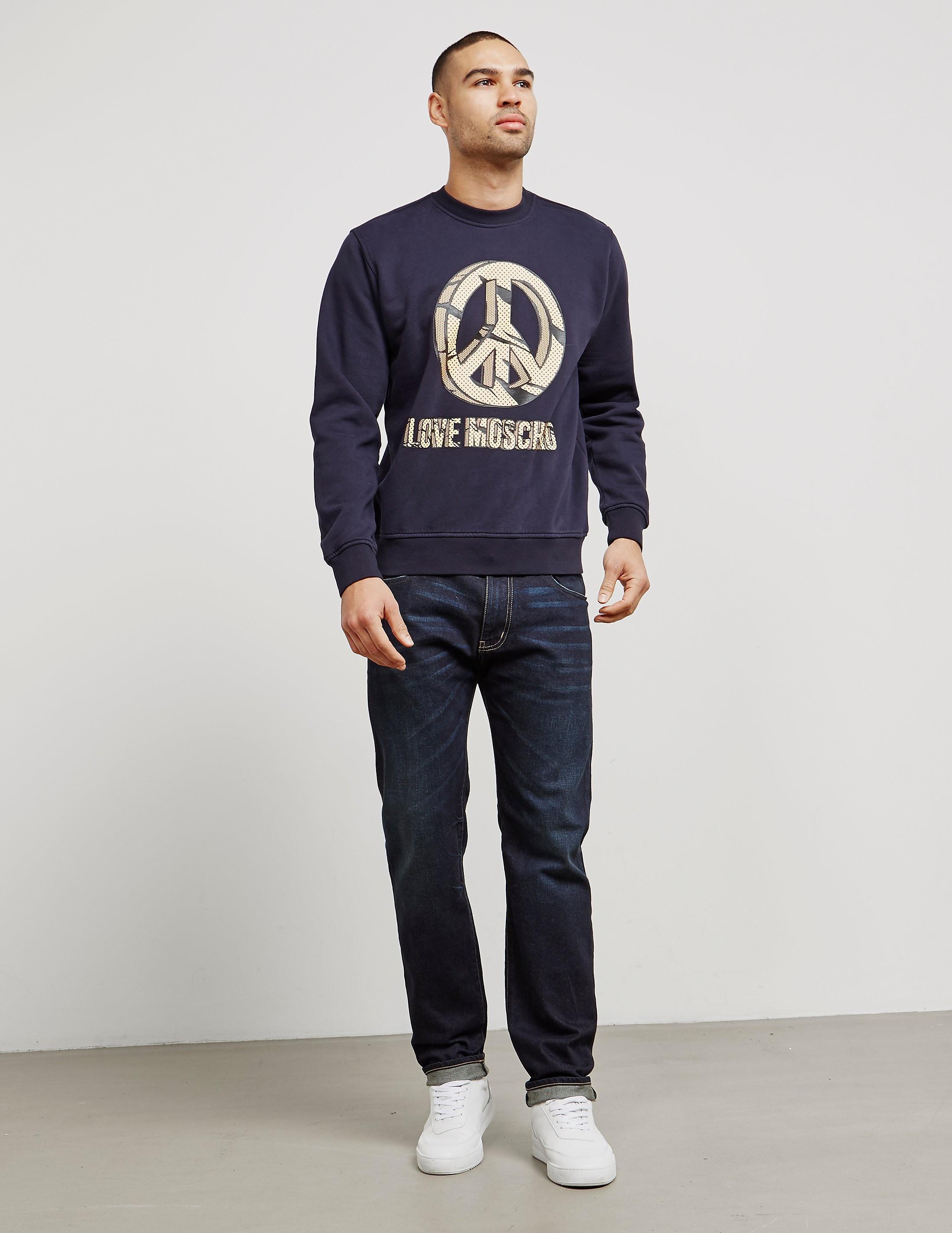 Love Moschino Peace Rock Sweatshirt