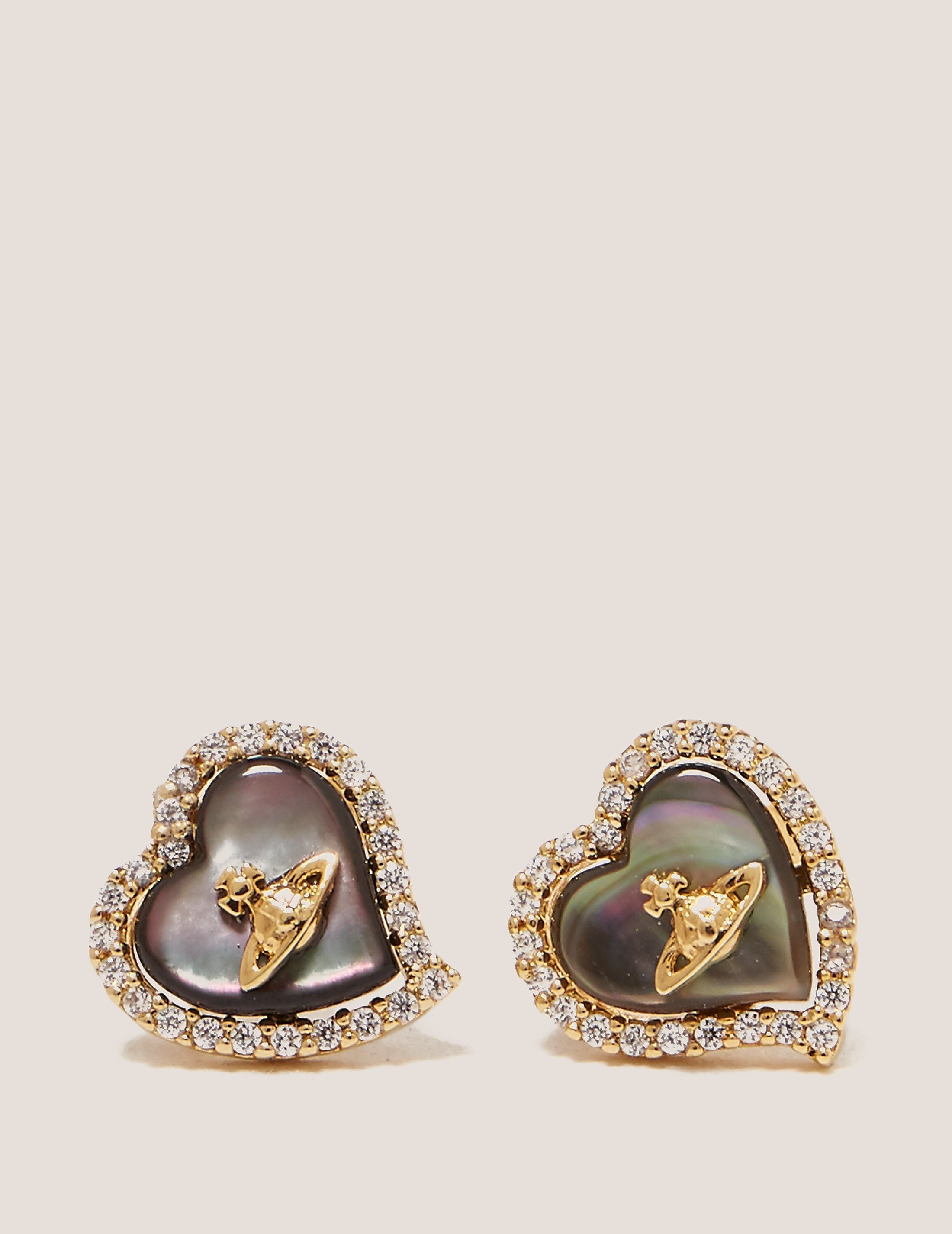 Vivienne Westwood Leotyne Heart Earrings