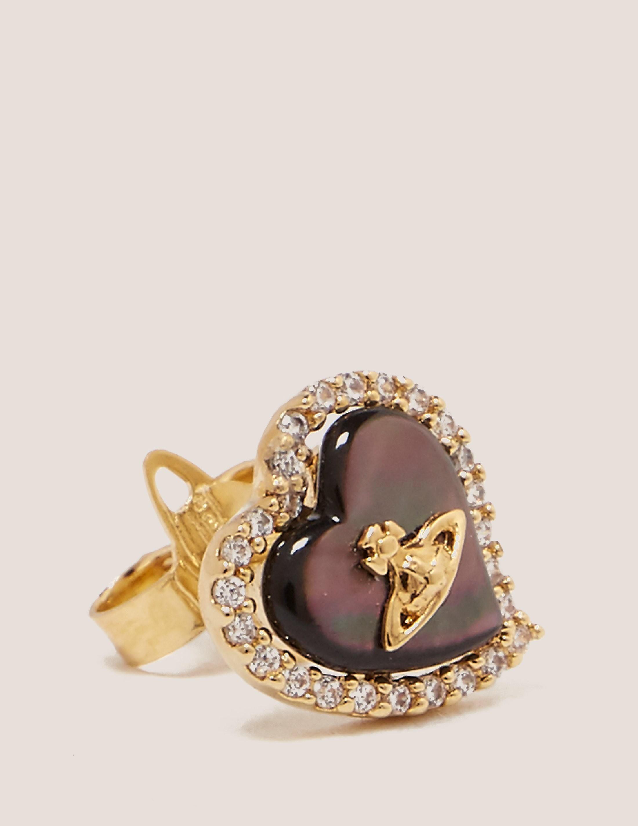 Vivienne Westwood Leotyne Heart Earrings