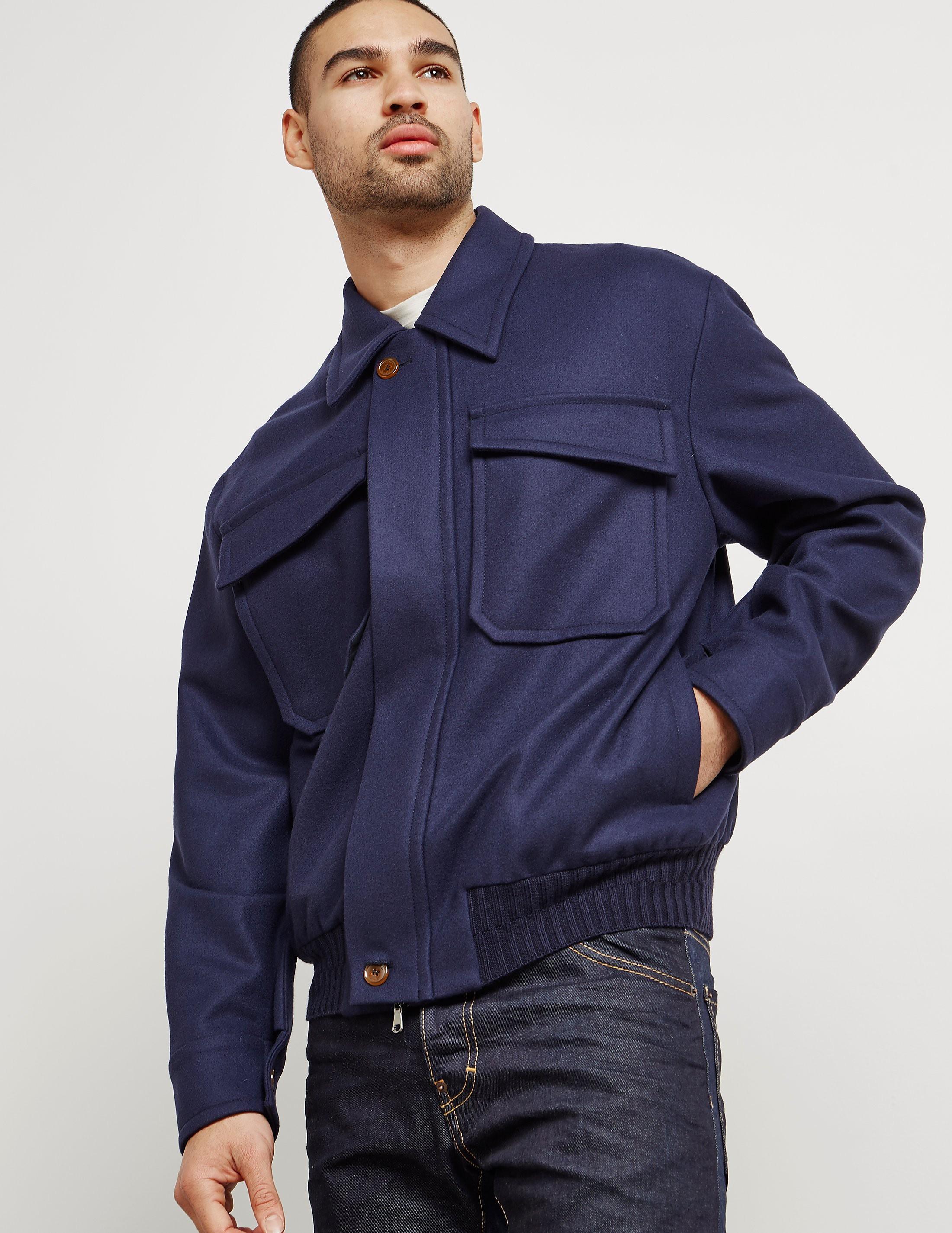 Vivienne Westwood Wool Padded Bomber Jacket