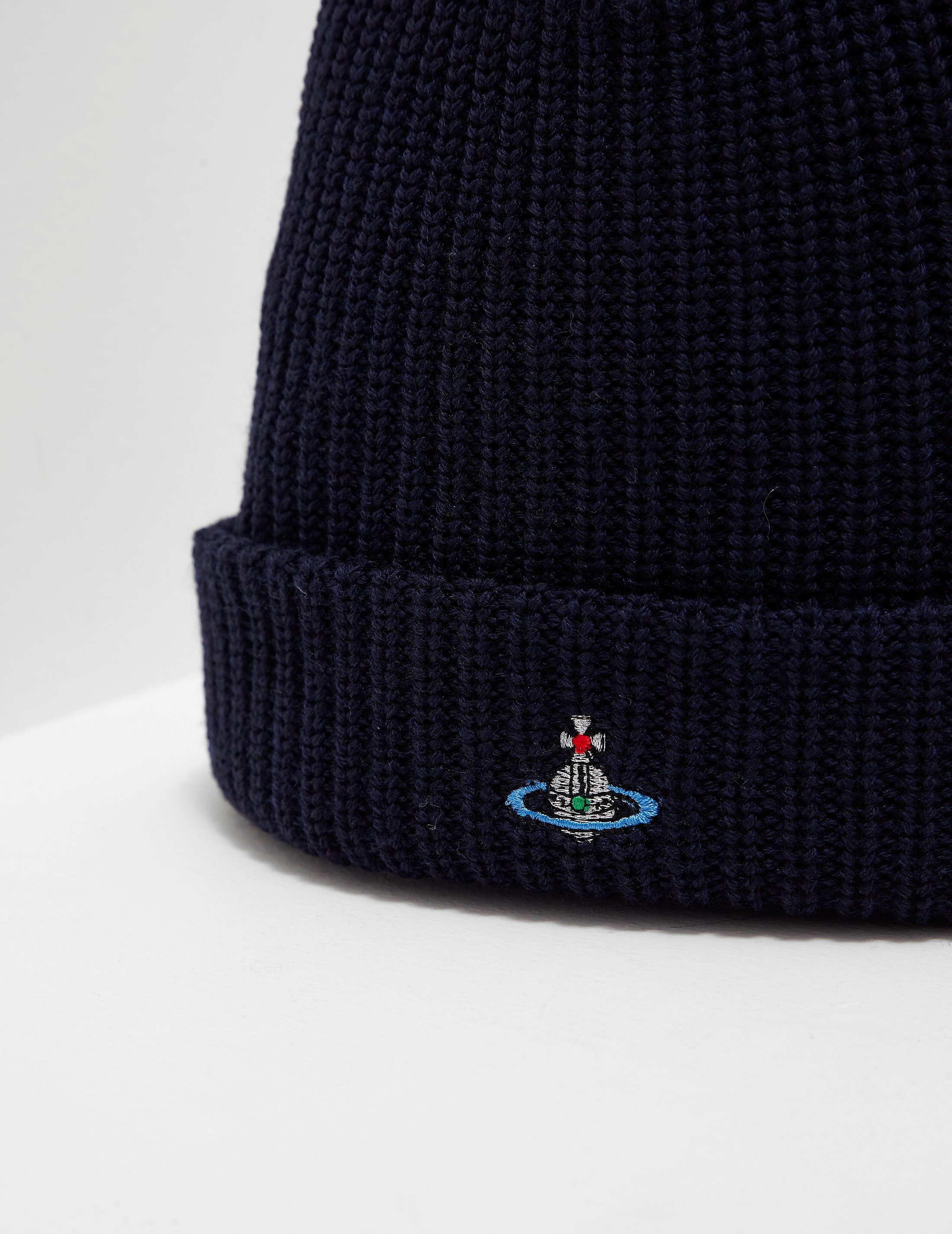 Vivienne Westwood Orb Knitted Beanie
