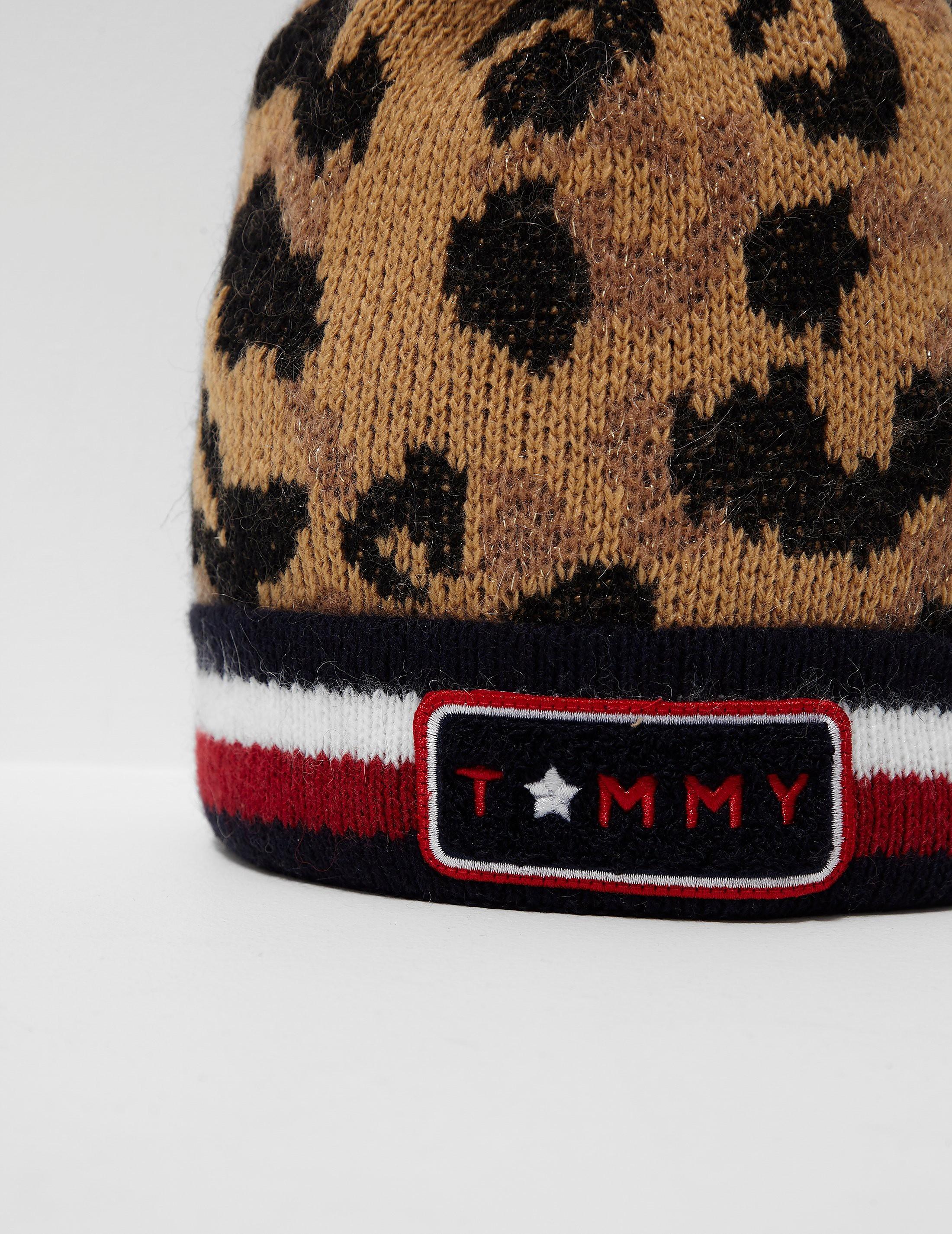 Tommy Hilfiger Pattern Beanie